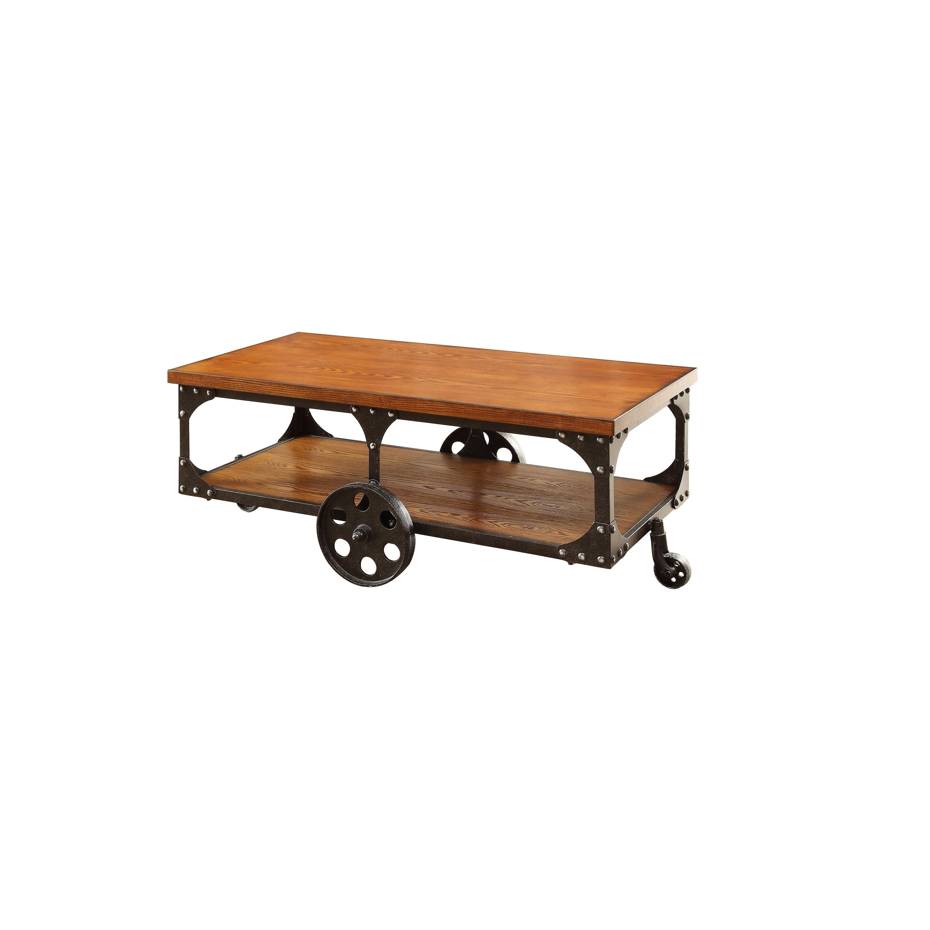 Cherry Coffee Table.Rustic Cherry Coffee Table