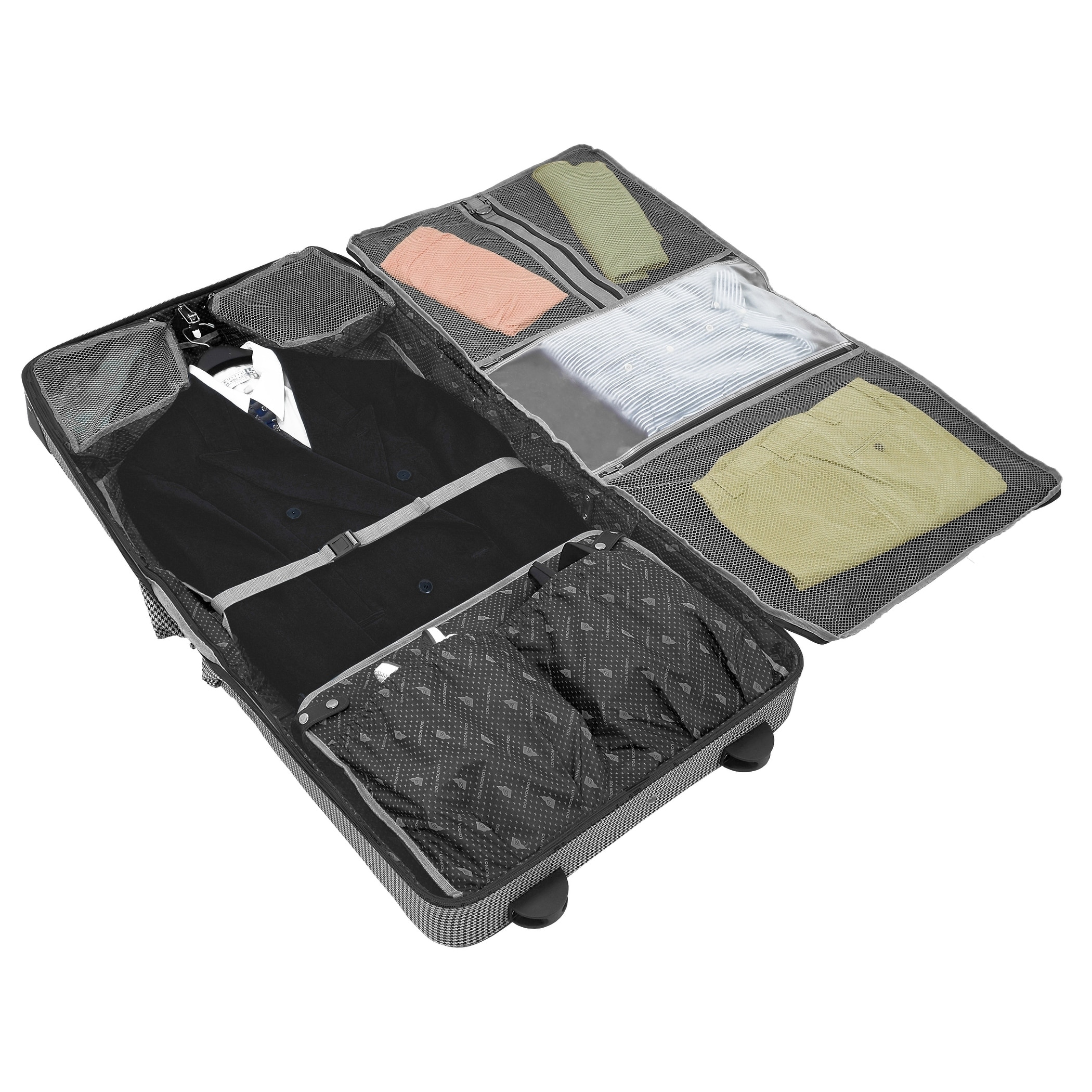 London Fog Cambridge Ii 44 Inch Wheeled Garment Bag Free Shipping Today 21376072