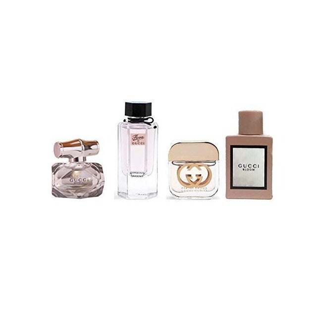 d85c2290c02 Shop Gucci Women s 4-piece Miniature Collection - Ships To Canada -  Overstock - 21378986