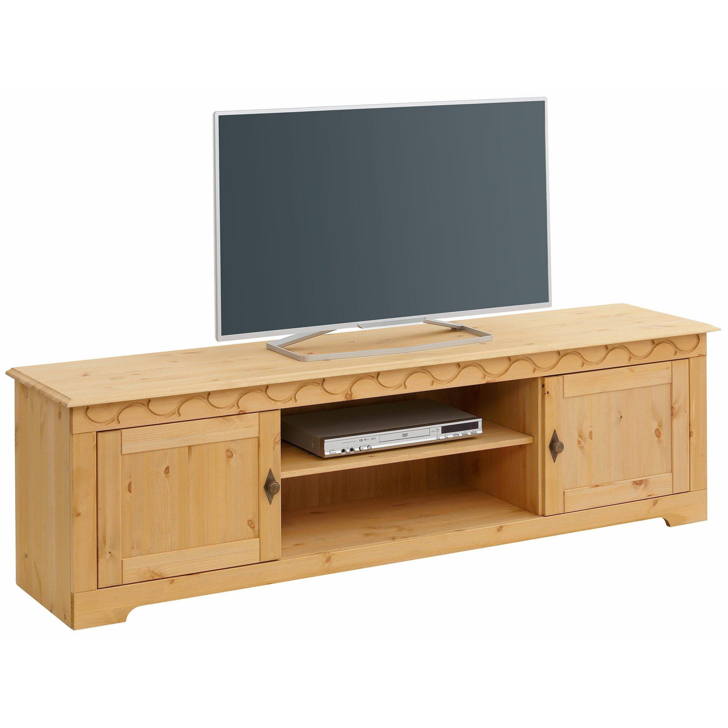 Amüsant Lowboard Fernseher Dekoration Von Shop Lando 69-inch Tv-lowboard, Solid Pine, Natural