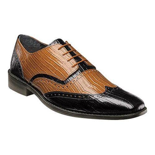Looking For Sale Online Cheap Sale Many Kinds Of Stacy Adams Sanborn Cap Toe Oxford 25156(Men's) -Cognac Buffalo Leather Outlet Big Sale Big Discount Online New Release GUwiH