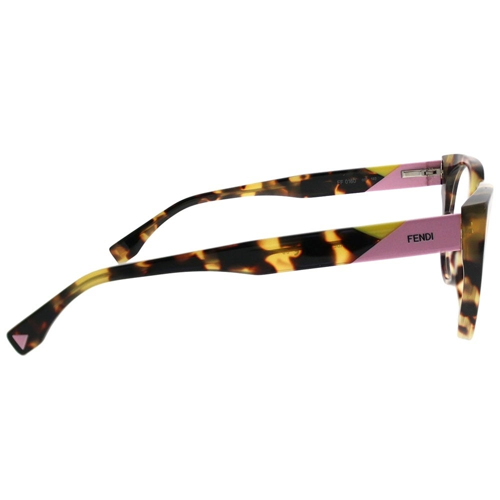 22c4c4634e17 Shop Fendi Cat-Eye FF 0160 Fendi Facets 00F Women Tortoise Frame Eyeglasses  - Free Shipping Today - Overstock - 21443716