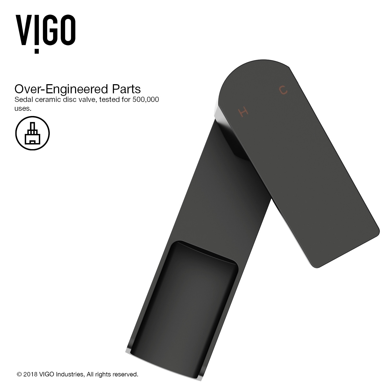 Shop VIGO Amada Matte Black Vessel Bathroom Faucet - On Sale - Free ...