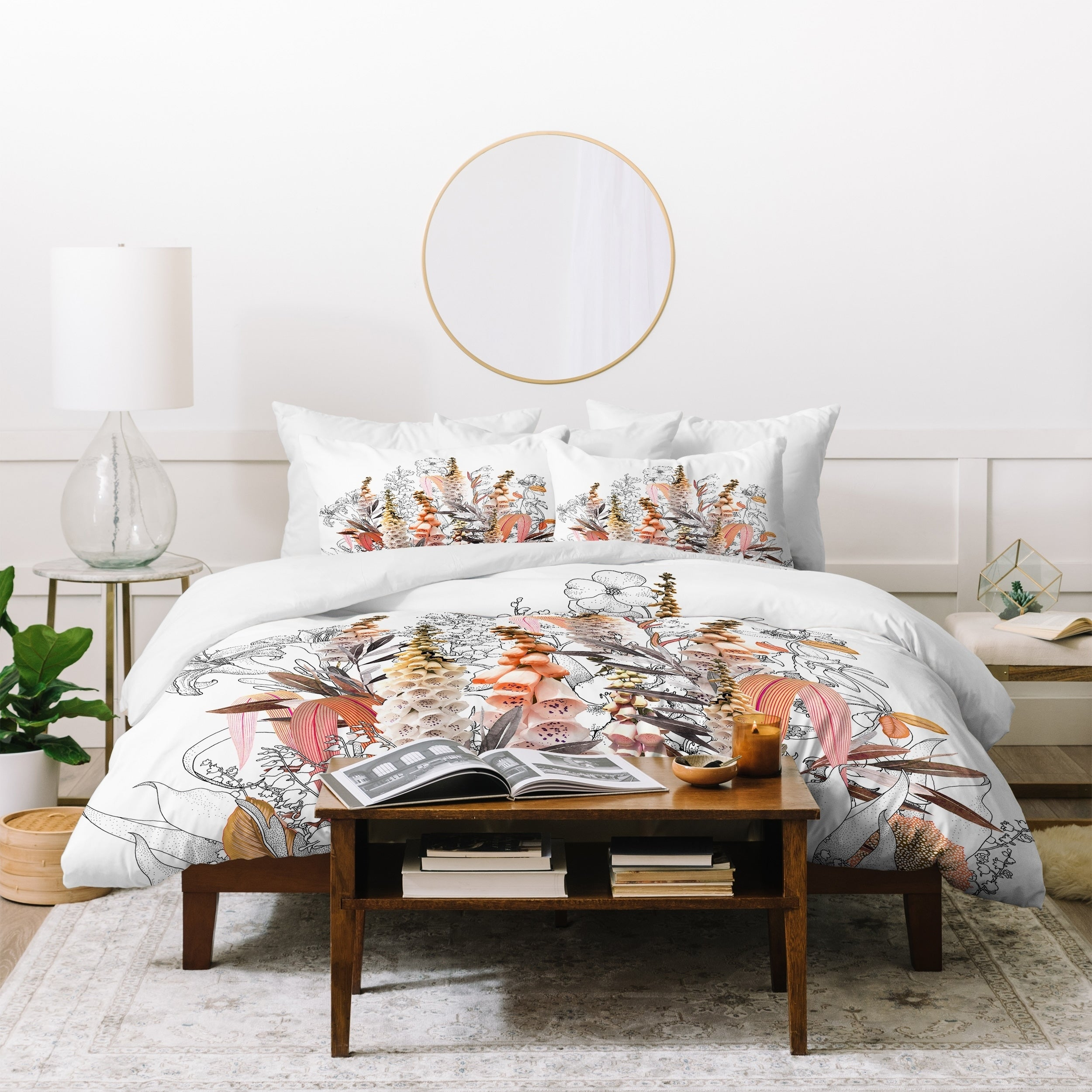 Shop iveta abolina lupines cream duvet cover set on sale free shipping today overstock com 21454022