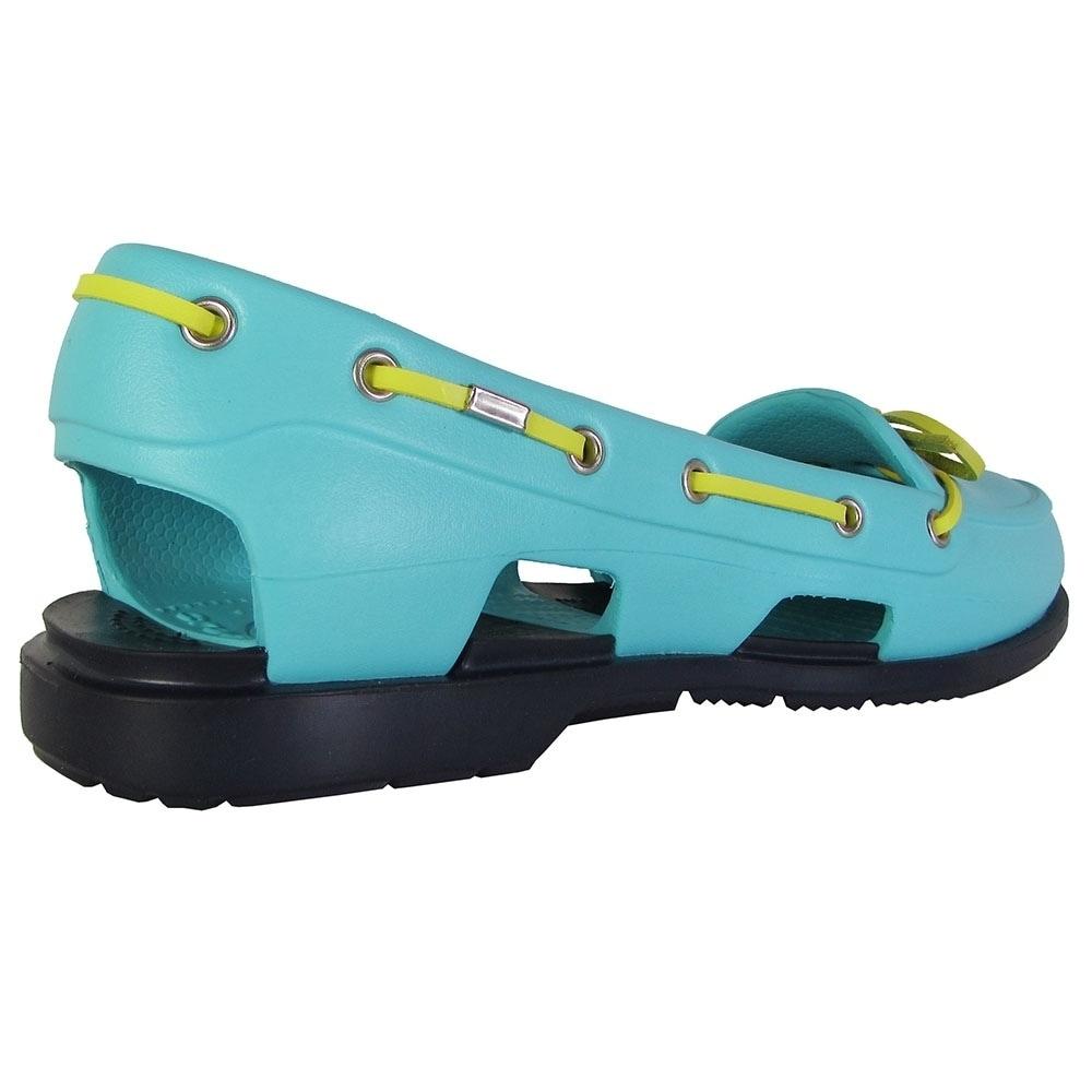 31be82671 Shop Crocs Womens Beach Line Slip On Boat Shoes
