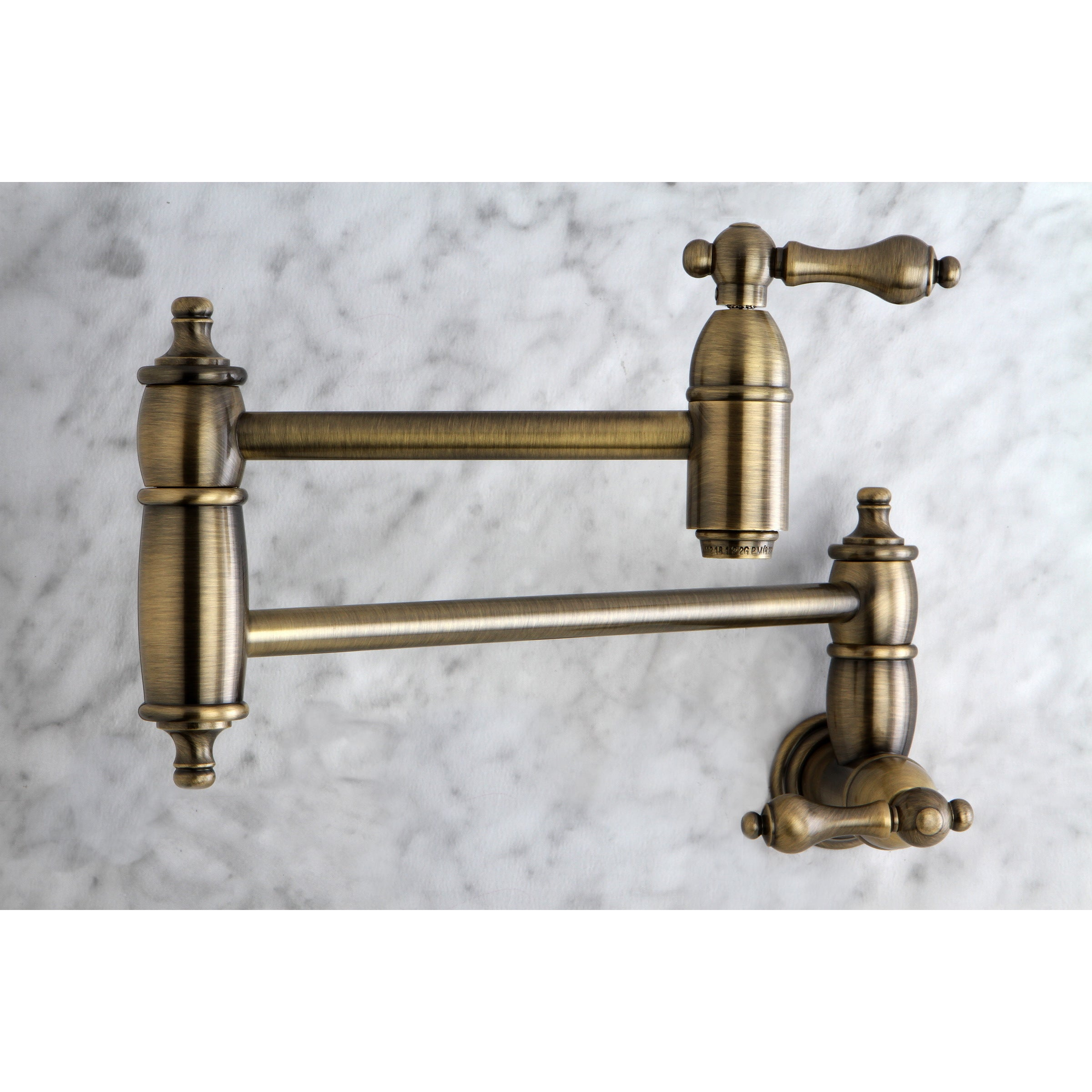 double wall pasta fillers kitchen single filler chrome hole retractable oil maddox rubbed spout joint rb delta faucets faucet bronze pot venetian mount