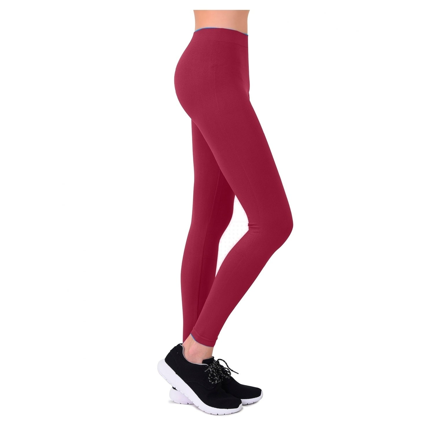 bf2cf9ba11093 Shop Mopas Ladies Nylon Leggings - Free Shipping On Orders Over $45 -  Overstock - 21479597