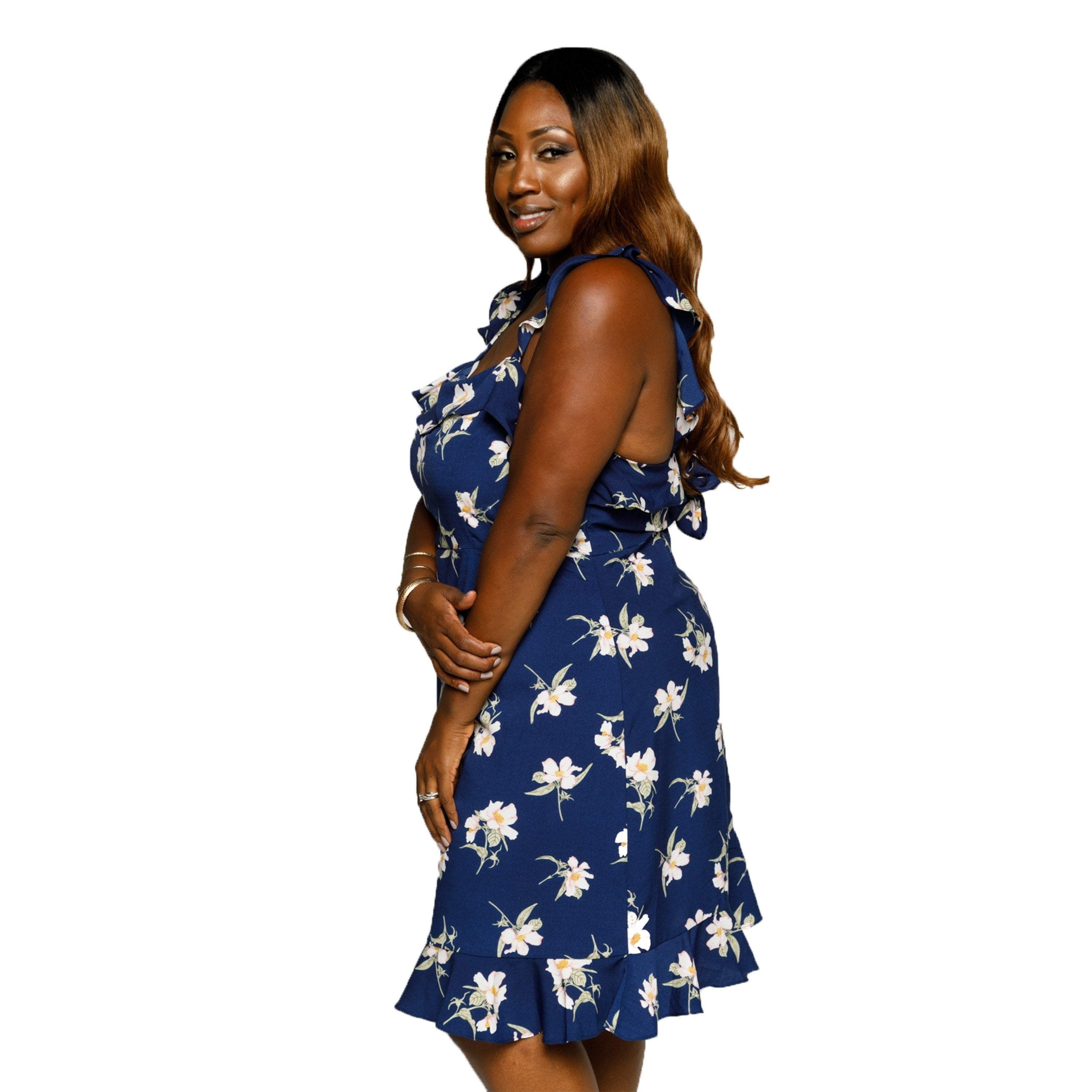 ab148edc37a Shop Xehar Womens Plus Size Sleeveless Ruffle Floral Short Summer Dress -  On Sale - Free Shipping Today - Overstock.com - 21488244