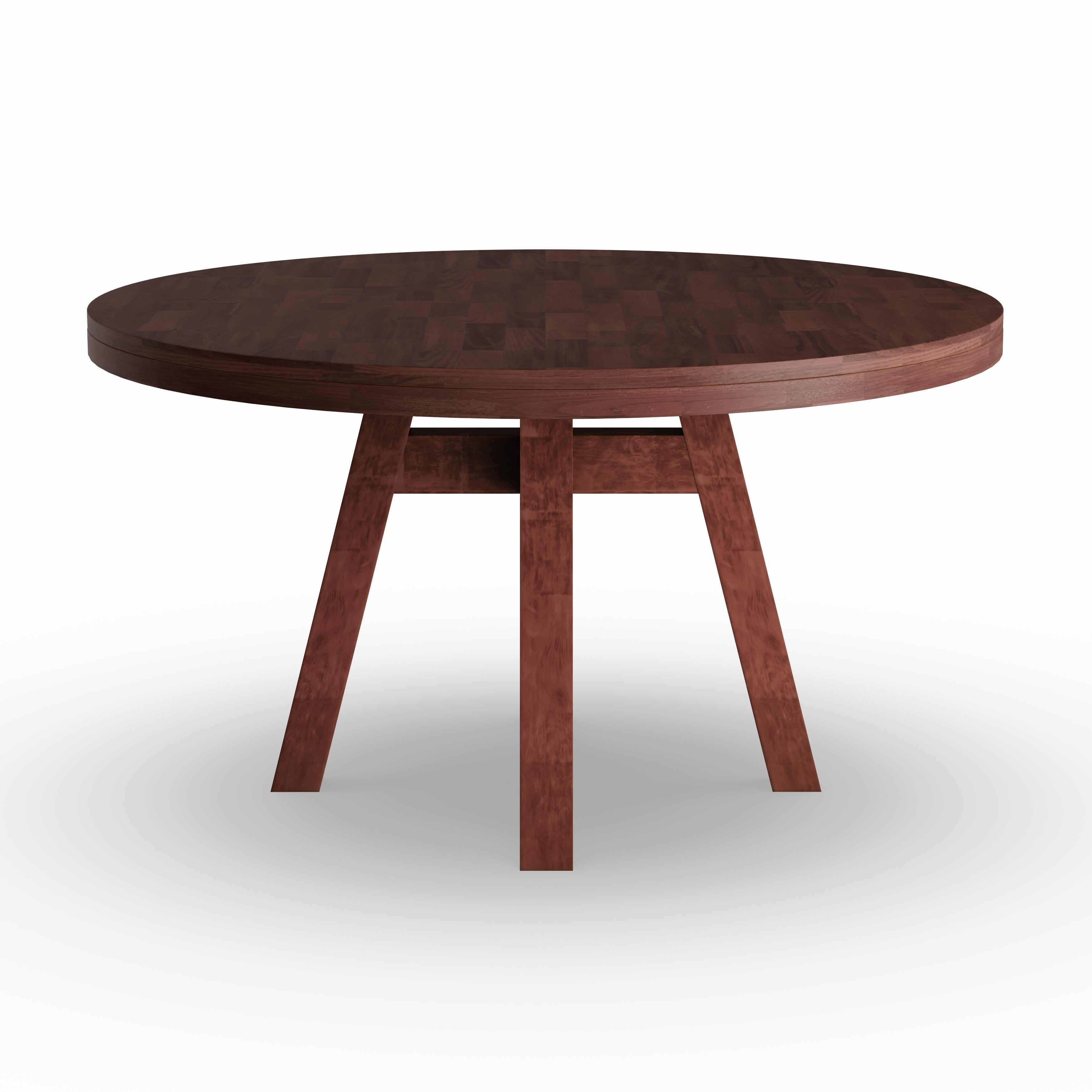 Shop carson carrington bellinge modern solid wood round dining table free shipping today overstock 21490286