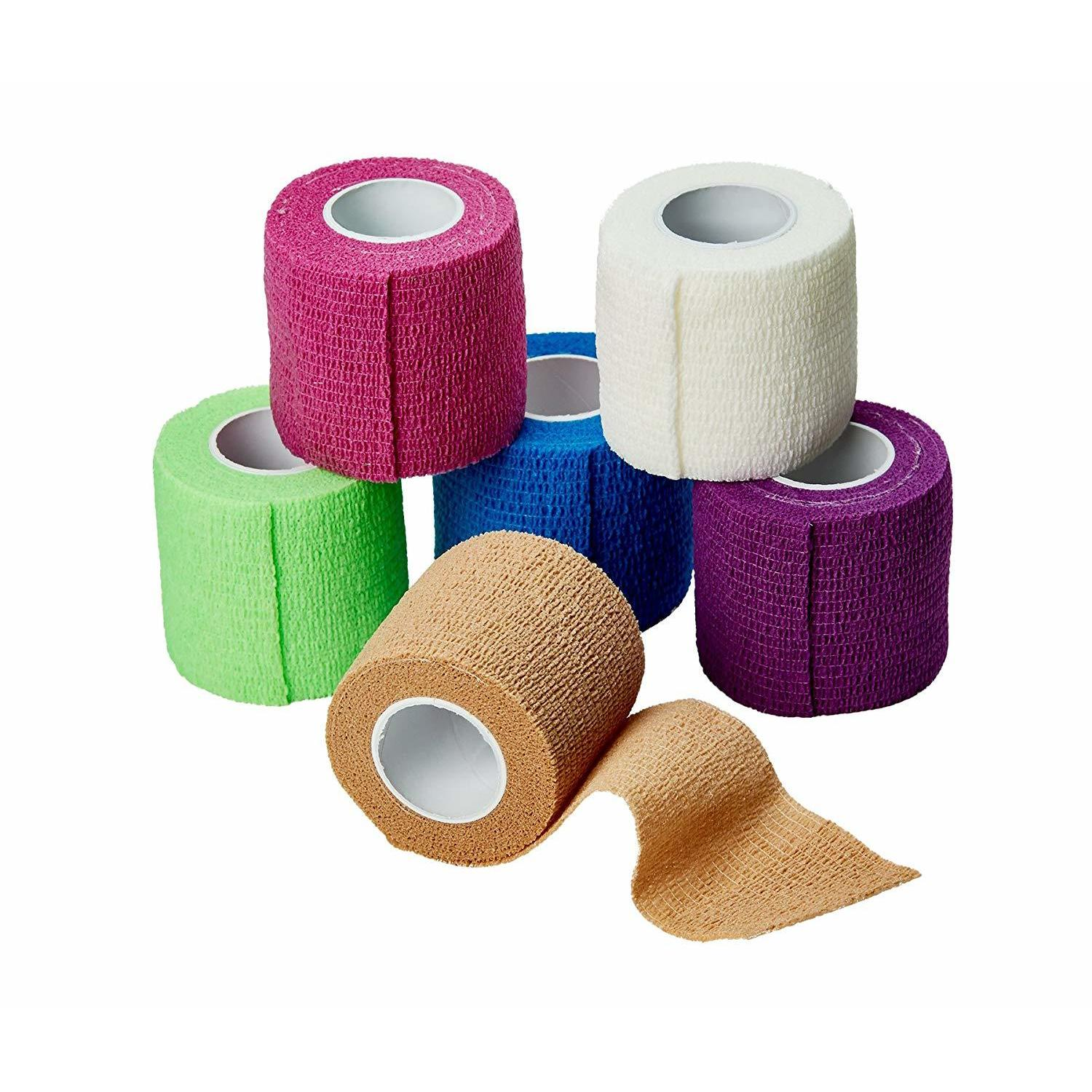 Shop Medca Self Adherent Cohesive Wrap Bandages 2 Inches X 5 Yards