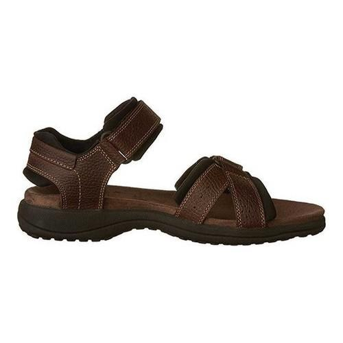 3023ff625a82 Shop Men s Clarks Keating Sandal Brown Oily Leather - Free Shipping ...