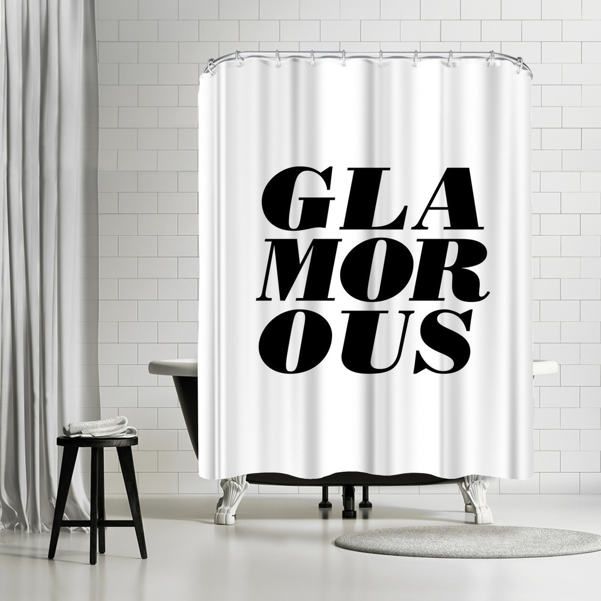 Shop Americanflat Glamorous Shower Curtain