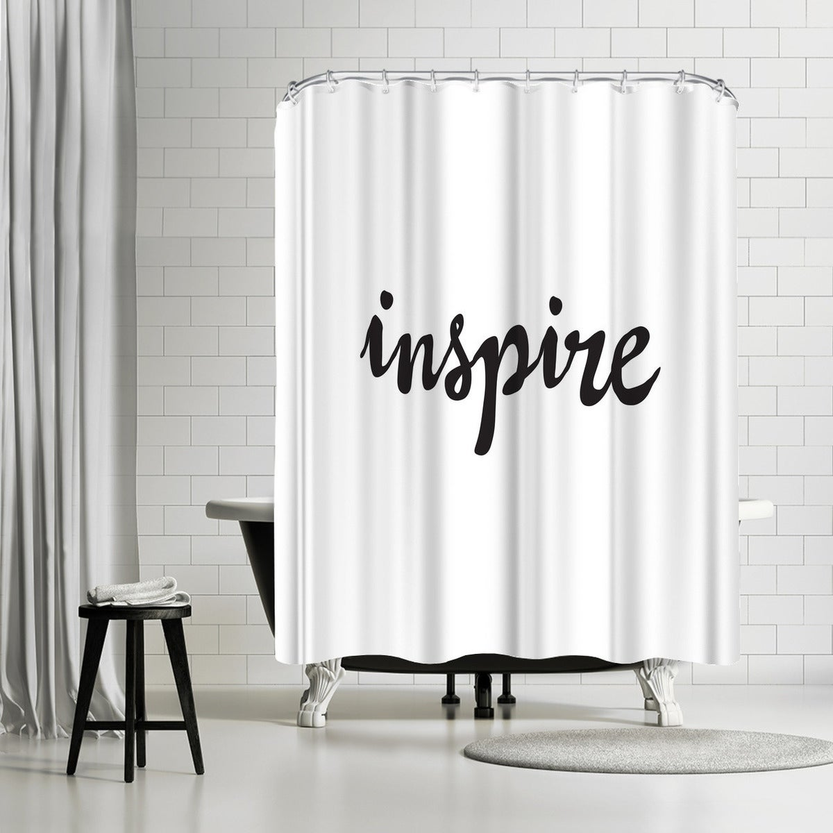 Shop Americanflat Inspire Shower Curtain