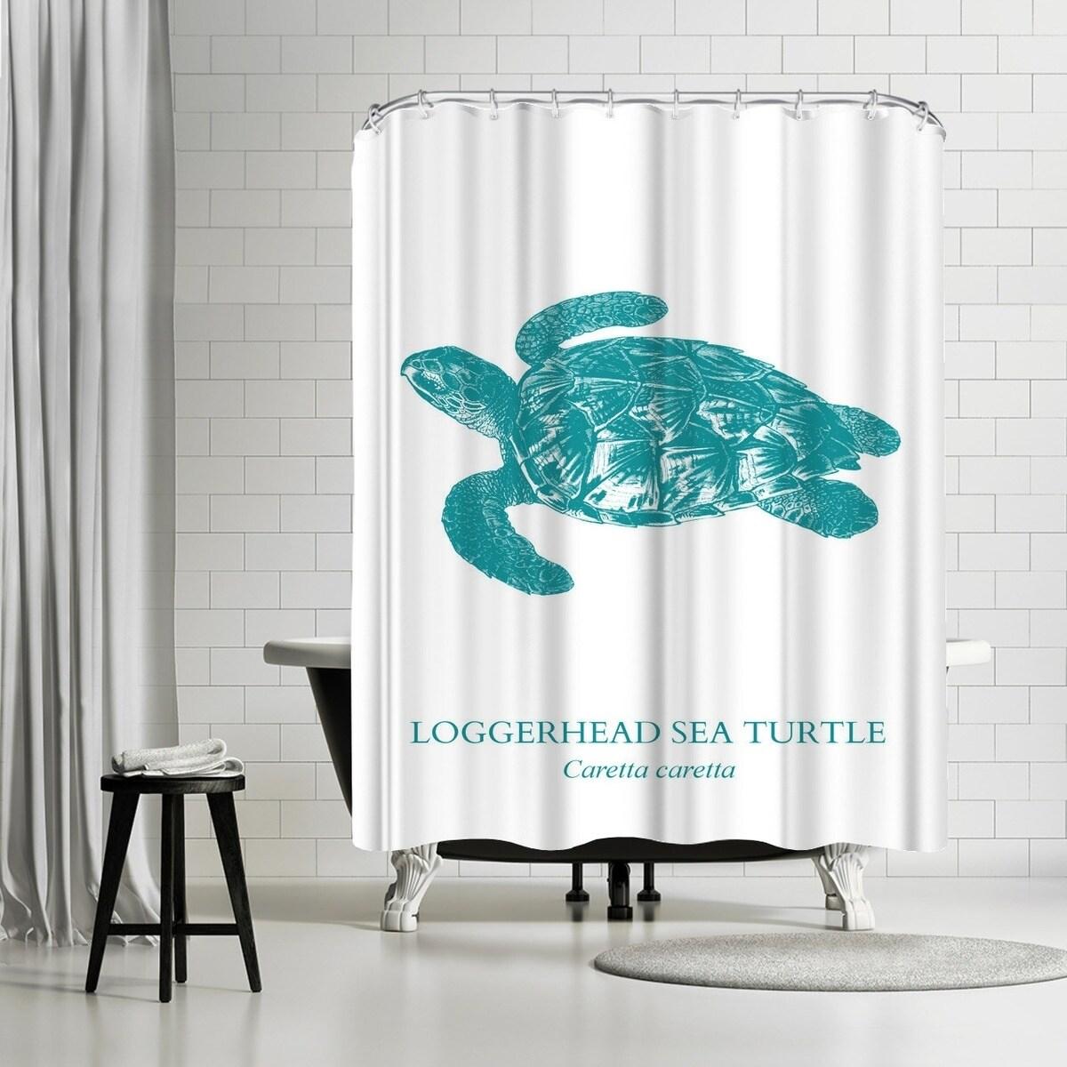 Shop Americanflat Sea Turtle Shower Curtain