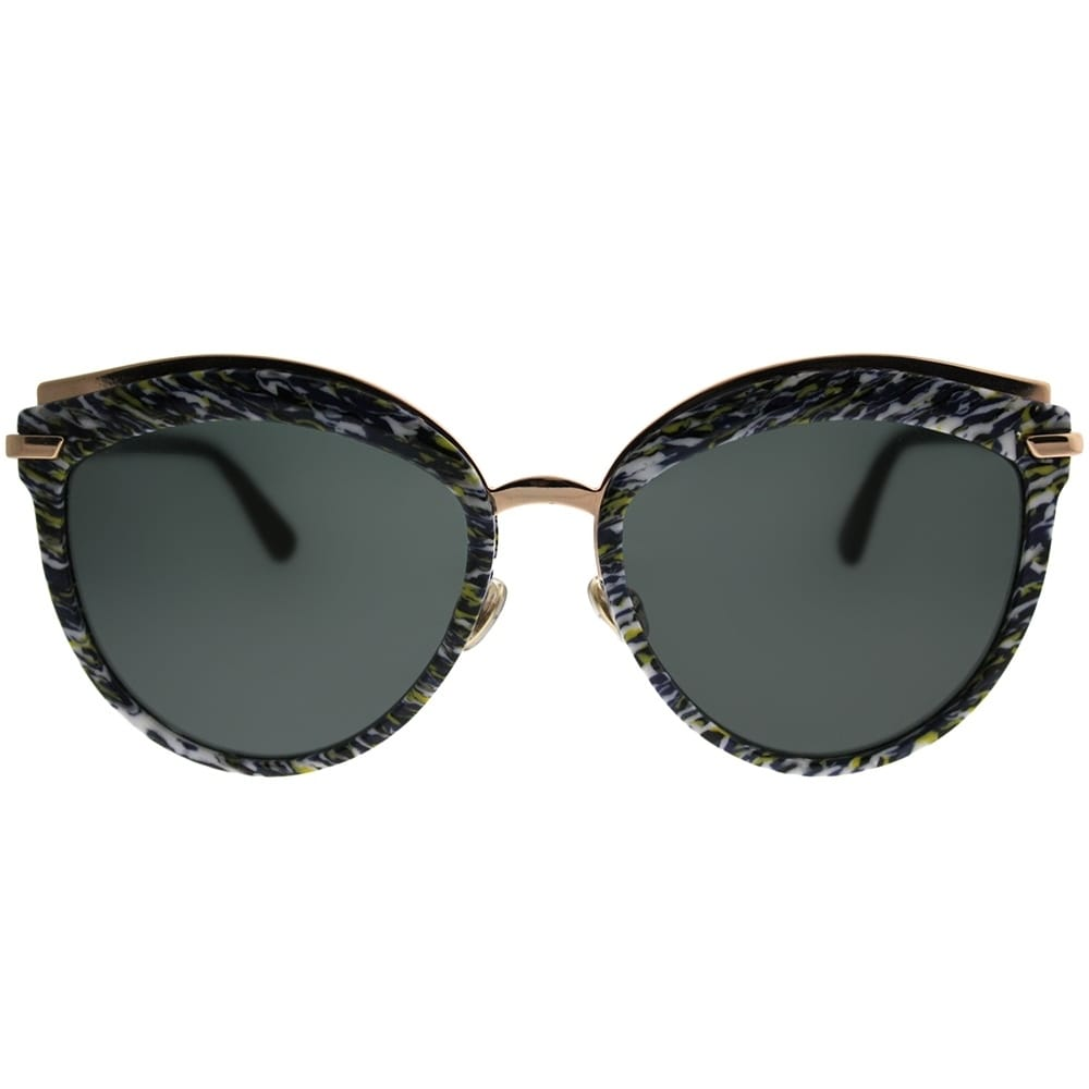 fdfaa3f27d Shop Dior Cat-Eye Offset 2 9N7 2K Women Yellow Blue Tweed Pattern Frame  Grey Lens Sunglasses - Free Shipping Today - Overstock - 21518846