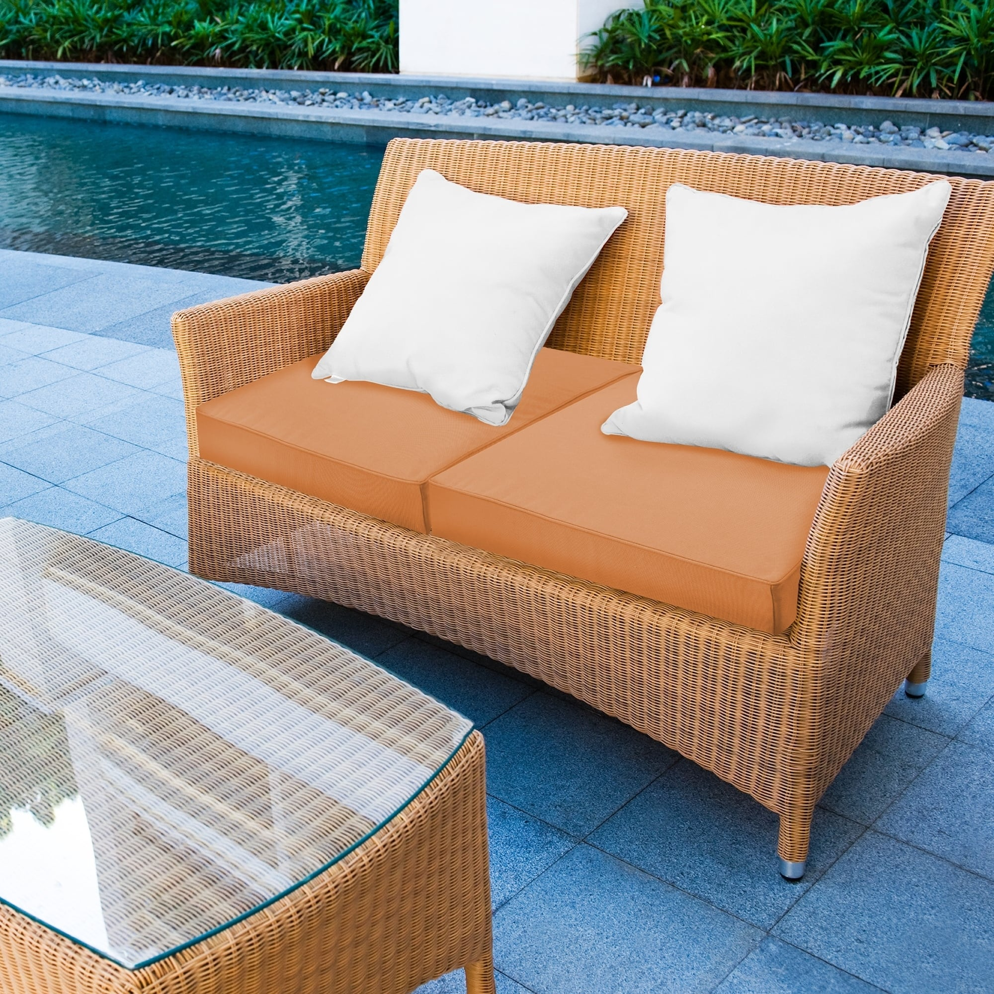 24 X Waterproof Sunbrella Memory Foam Seat Cushion X24 On Free Shipping Today 21529543