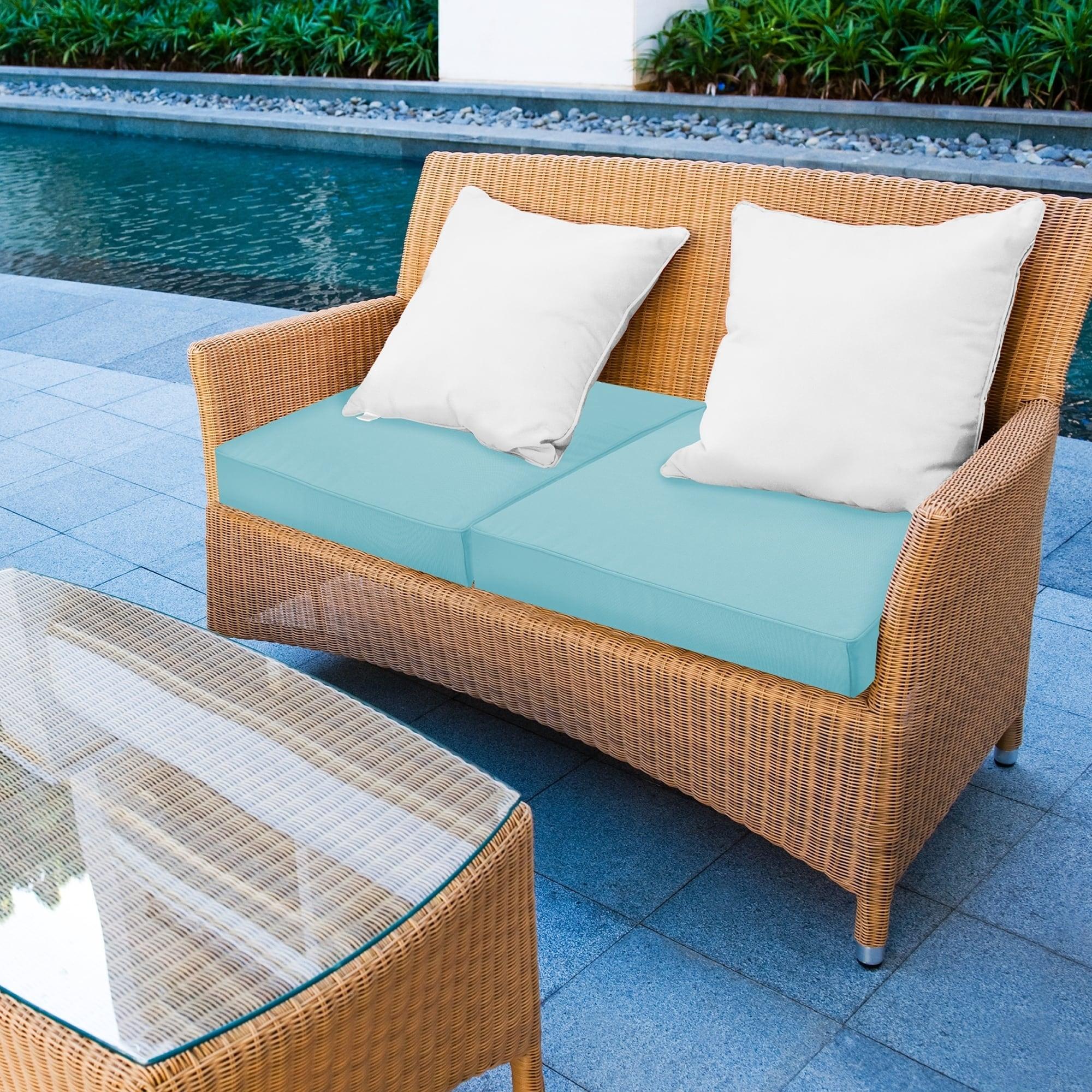 Sensorpedic 24 X 24 Waterproof Sunbrella Memory Foam Seat Cushion 24 X24