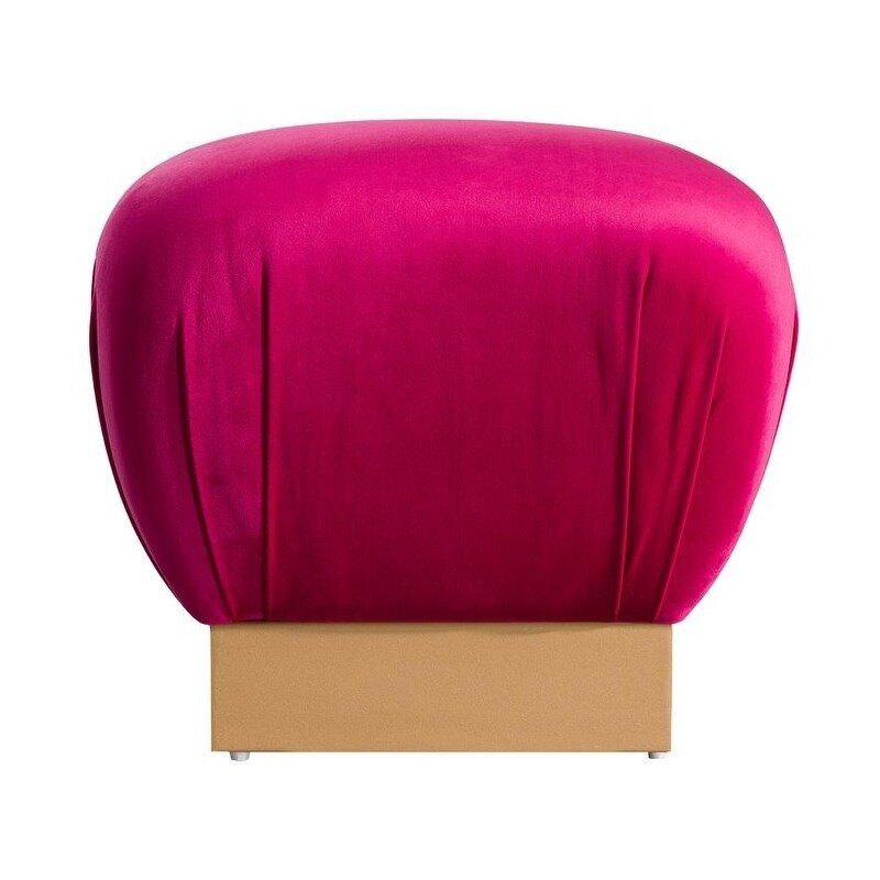 Lotus Hot Pink Ottoman Free Shipping Today 21529958