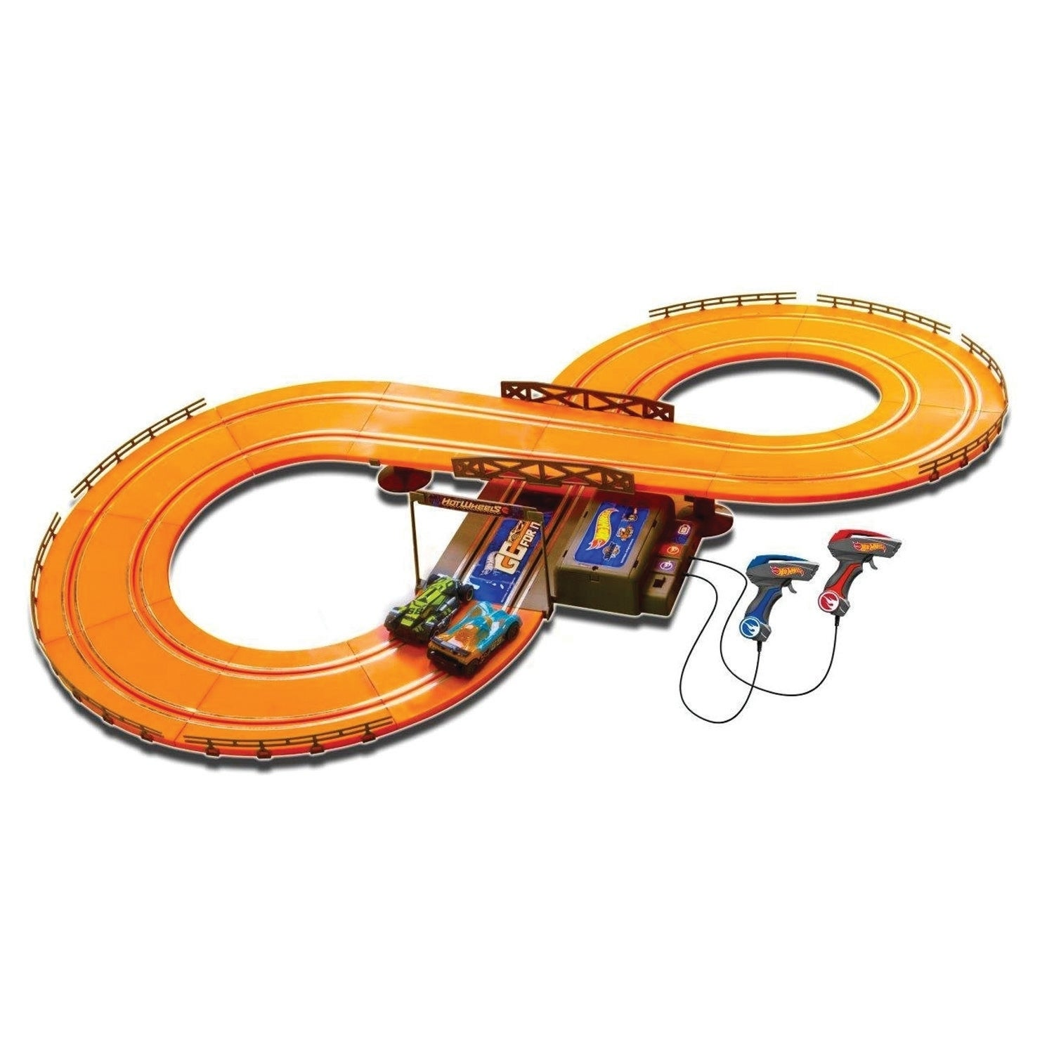 Shop Hot Wheels Battery Operated 91 Ft Slot Track Ships To Wiring Raceway Canada 21540327