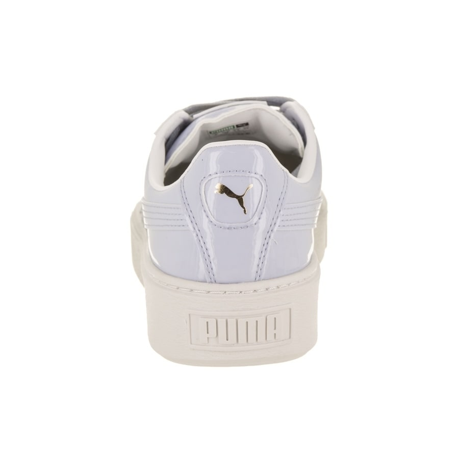 d9304a919cd Shop Puma Women s Basket Platform Patent Casual Shoe - Free Shipping Today  - Overstock.com - 21584254