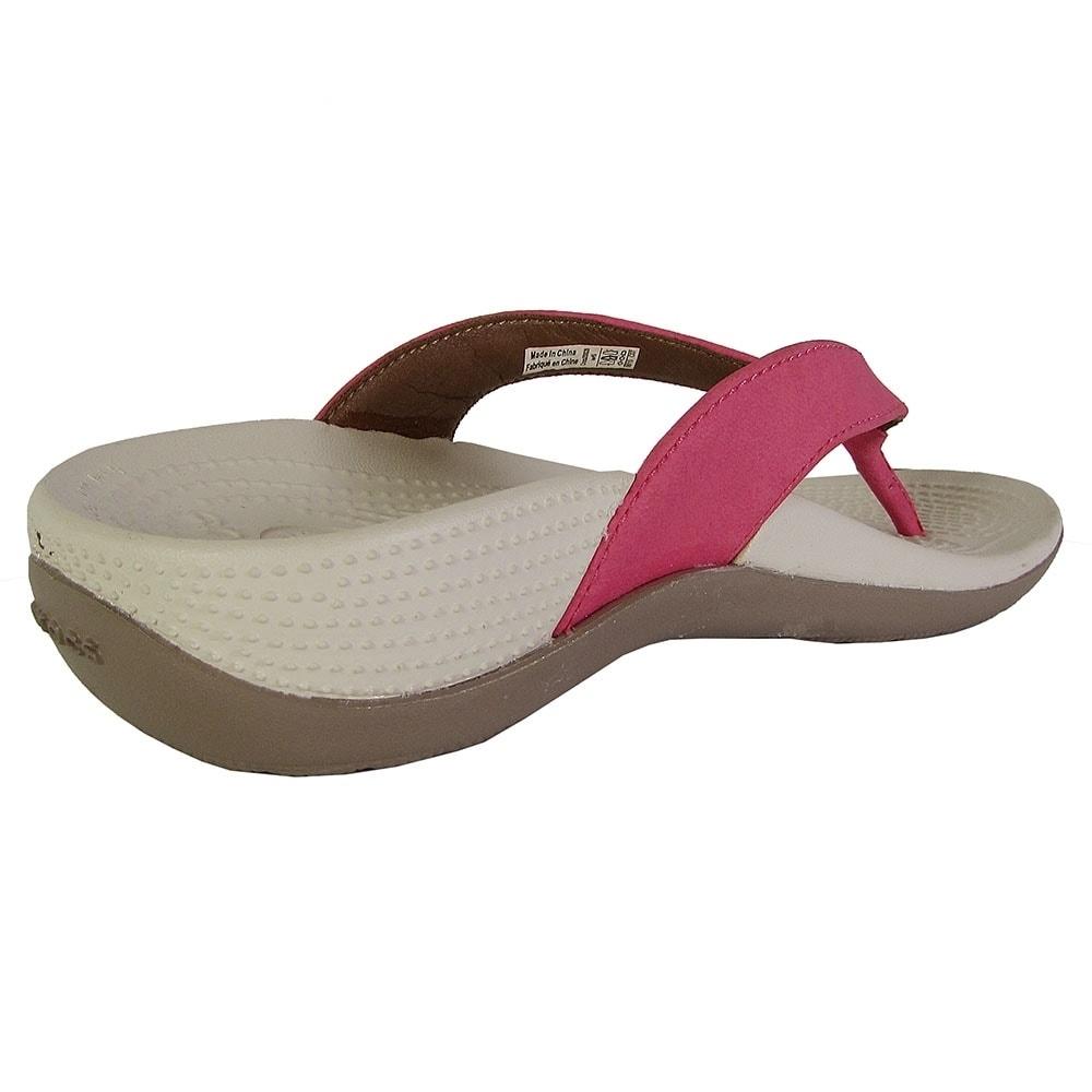 0ba8370fdf4f Shop Crocs Womens Ella Comfortpath Flip Flop Shoes