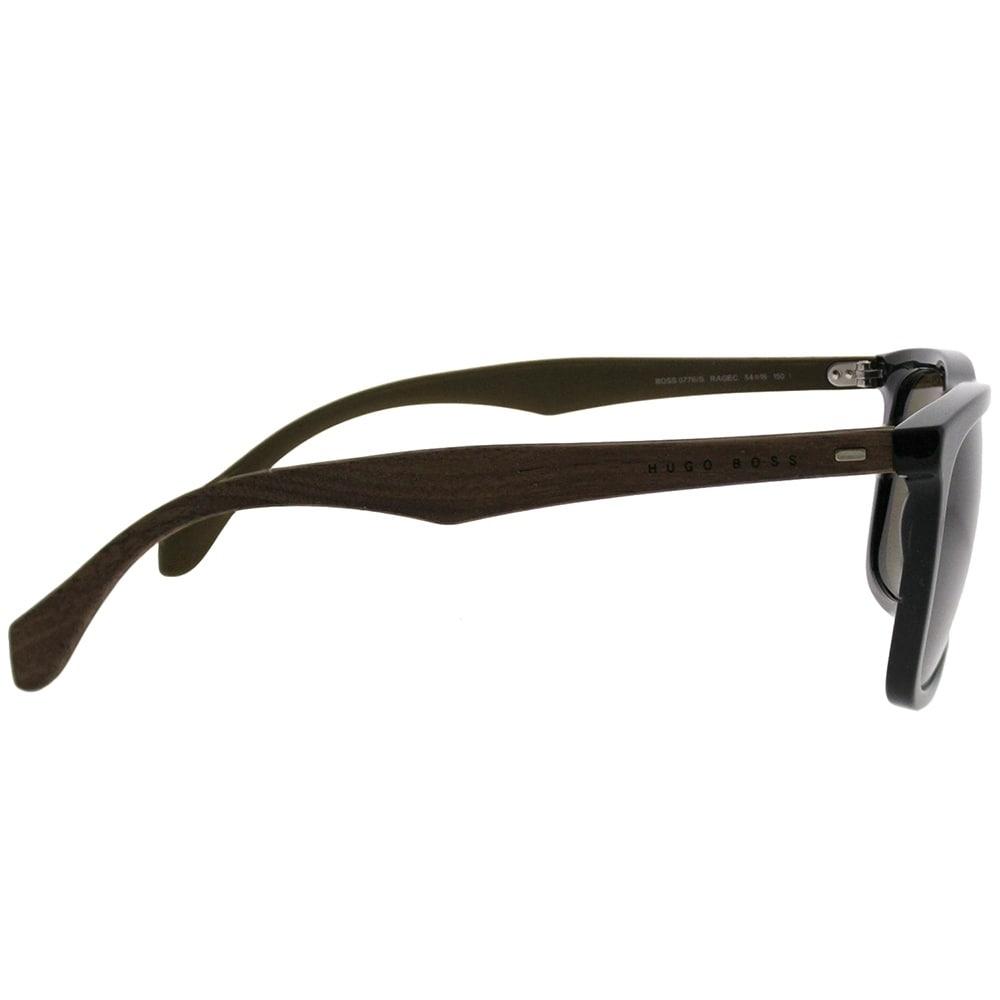 646445c775 Shop Hugo Boss Rectangle BOSS 0776 S RAG Unisex Black Brown Frame Brown Lens  Sunglasses - On Sale - Free Shipping Today - Overstock.com - 21609618