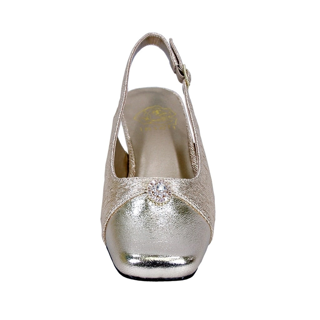 e732f3ab85d9 Shop FLORAL Jolie Women Extra Wide Width Elegant Slingback Dress Heel Shoes  - Free Shipping Today - Overstock - 21650219