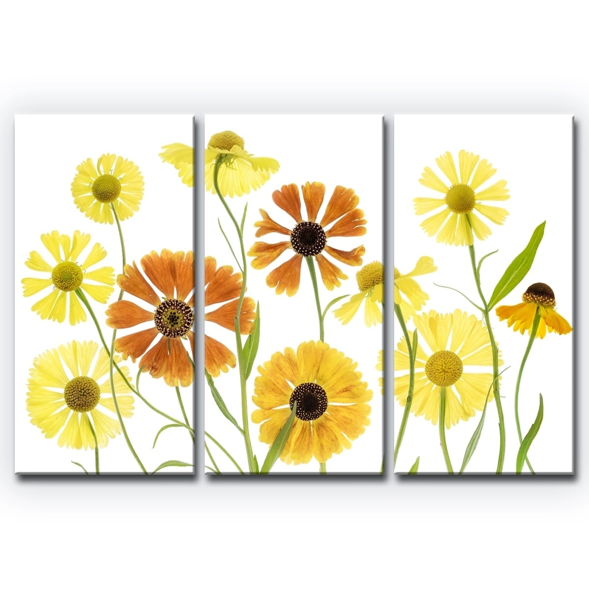 Shop Ready2HangArt \'Helenium\' 3-Pc Canvas Wall Décor Set - Orange ...