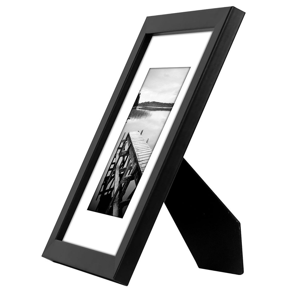 Americanflat 4 Pack - 8x10 Black Picture Frames - Display Pictures ...