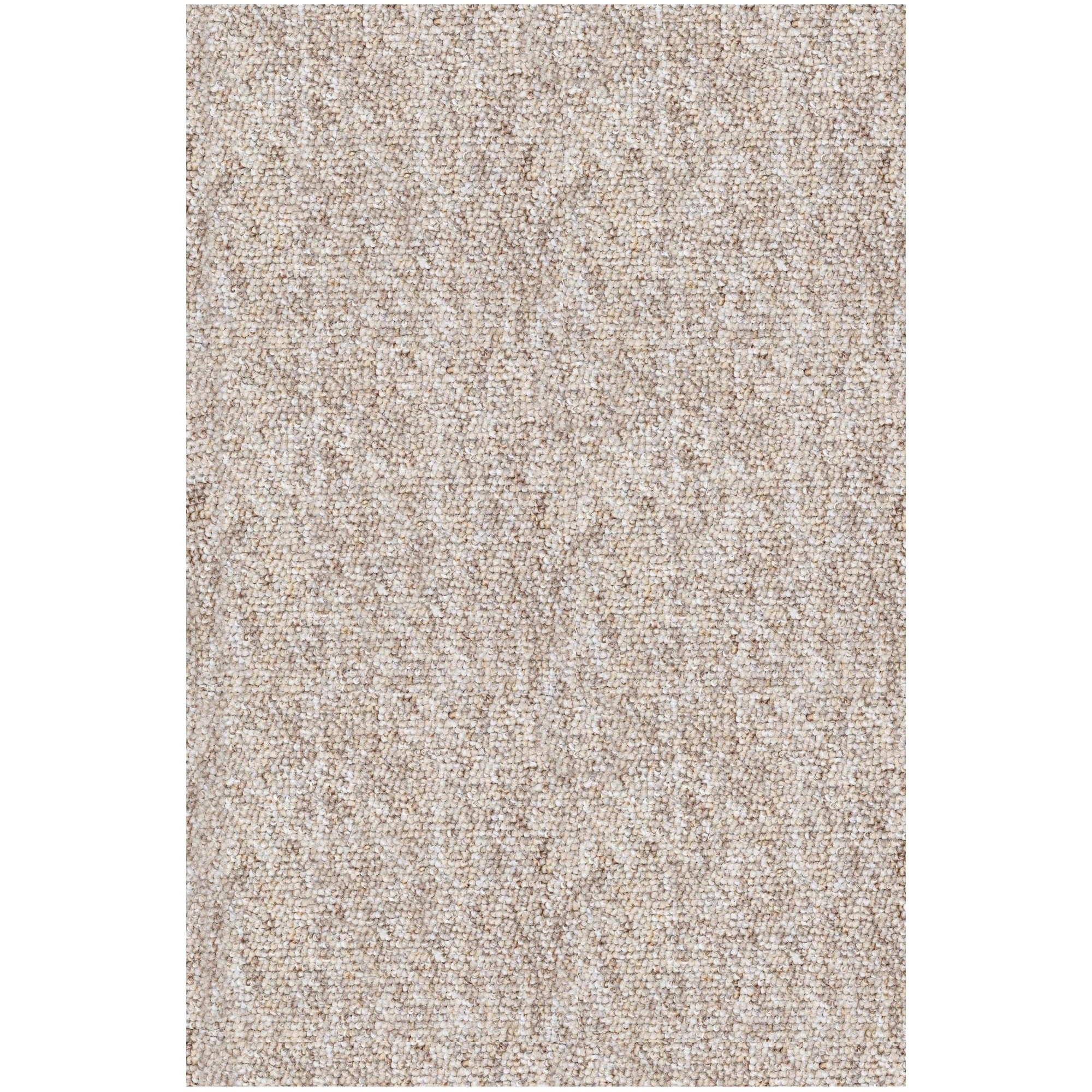 Shop Shaw Berber Superior Ivory Area Rug 9 X 12 On Sale Free