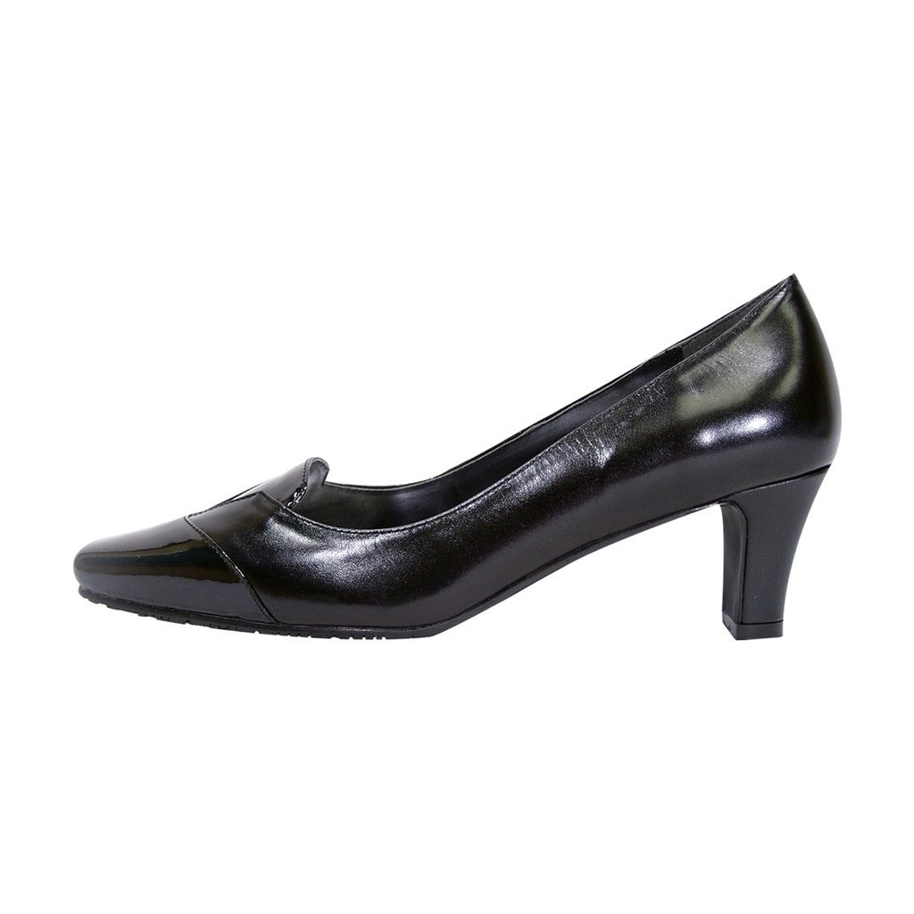 3565646fd Shop PEERAGE Shannon Women Extra Wide Width Closed Toe Mid Heel Pumps -  Free Shipping Today - Overstock - 21678135