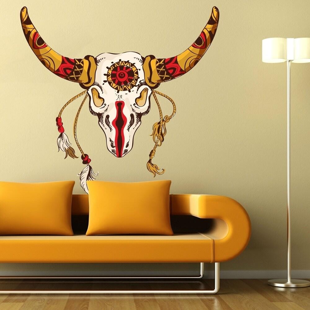 Enchanting Deer Skull Wall Decor Model - Art & Wall Decor ...
