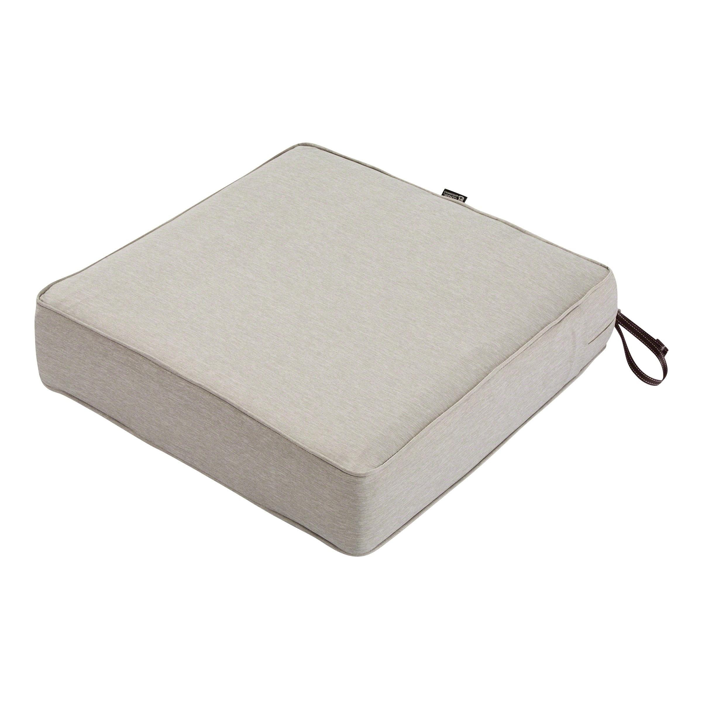 Montlake Fadesafe Squ Patio Lnge Seat Cushion 5 Thick 21 Wx21 Dx5 T
