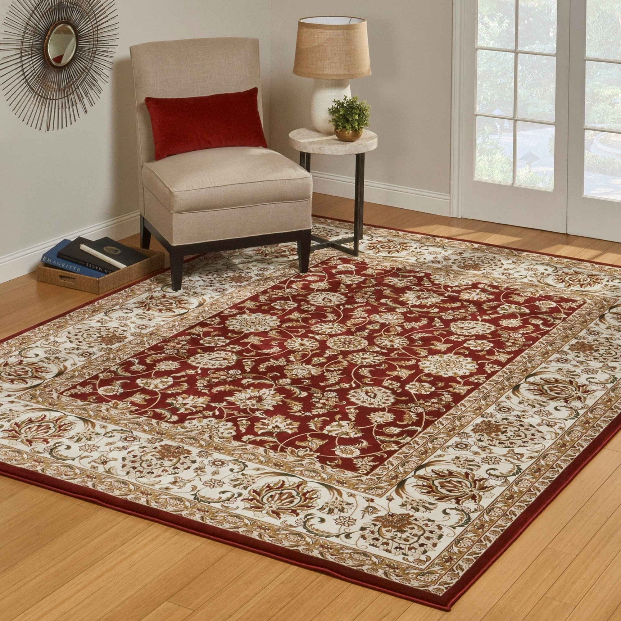 Cambridge Red Area Rug (710 X 10) By Gertmenian