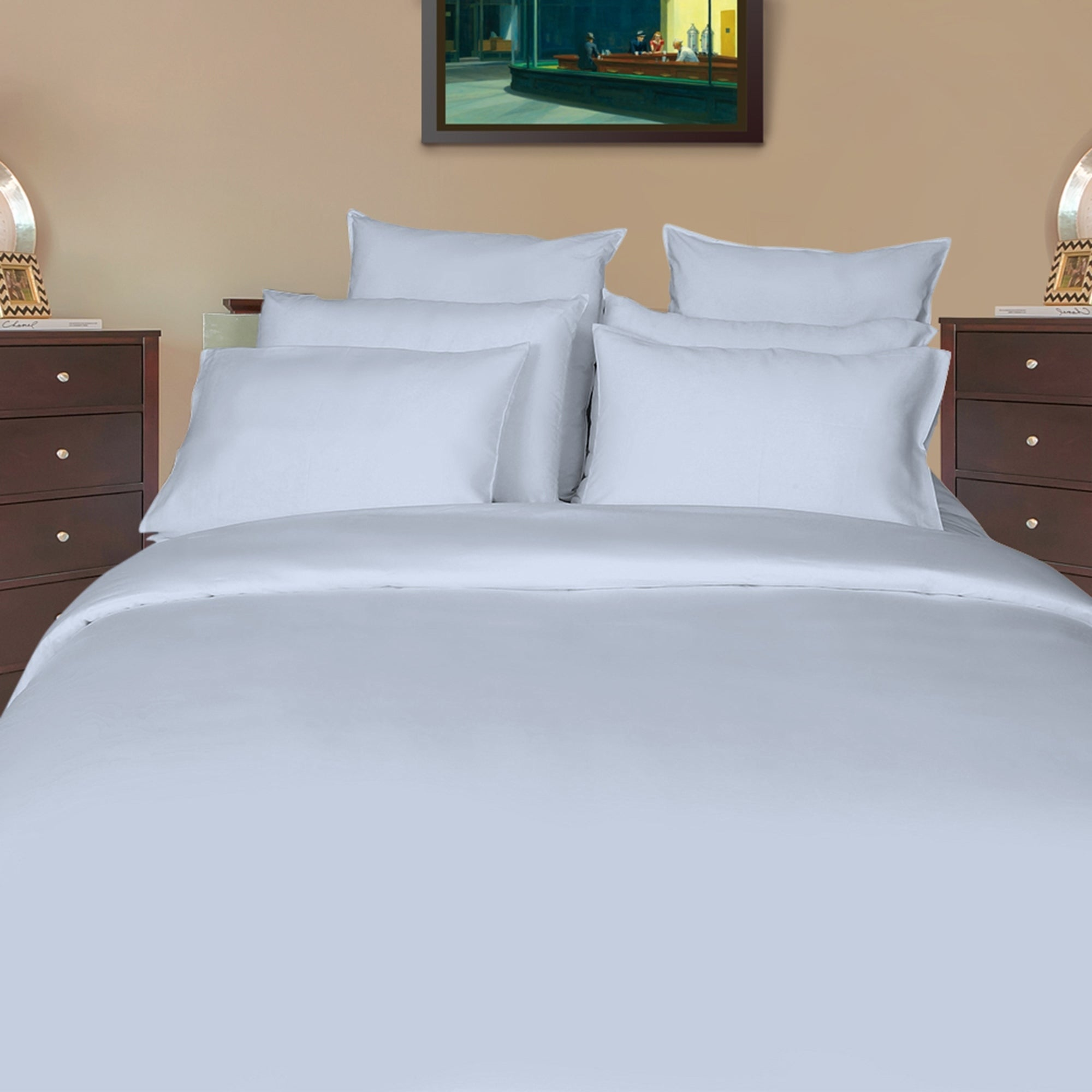 Just Linen 600 Thread Count 100% Egyptian Quality Cotton Sateen,