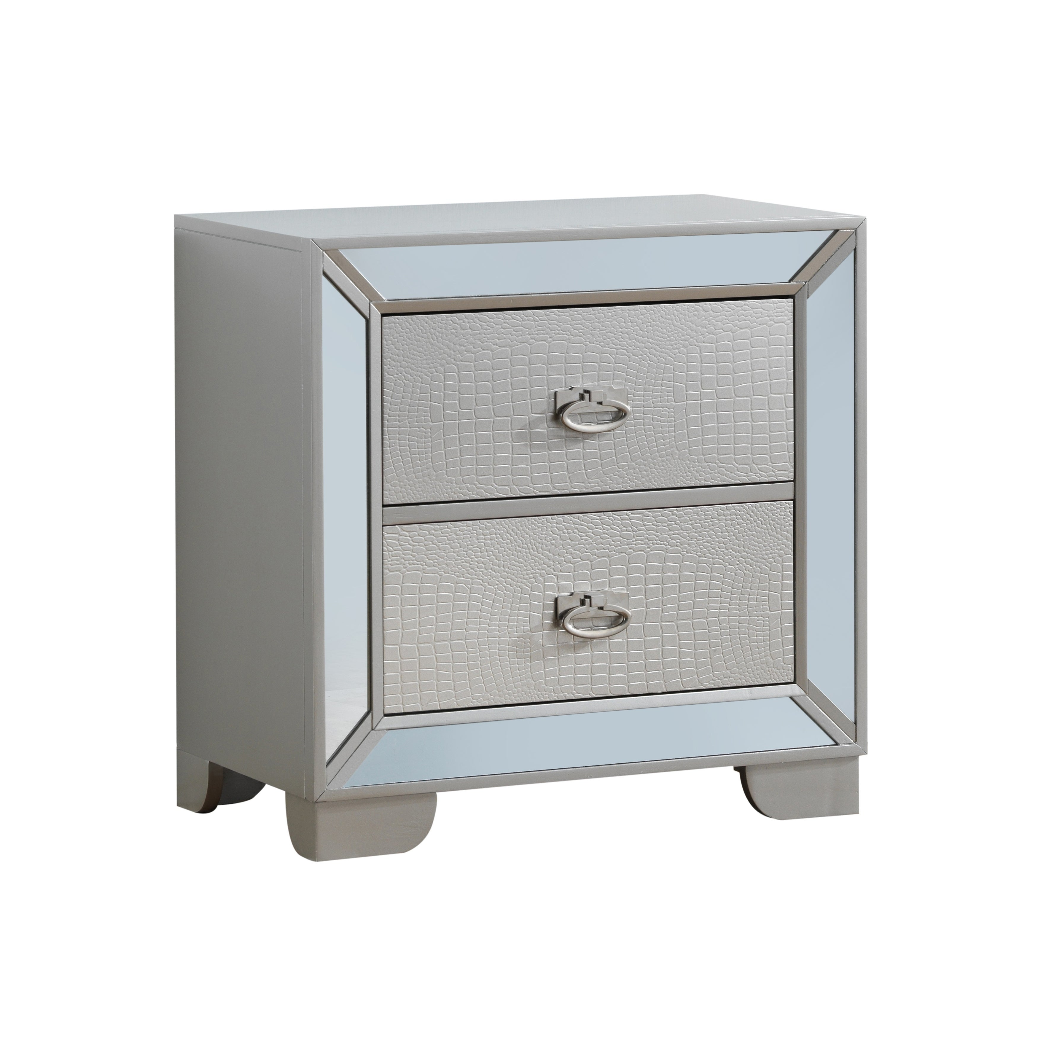 Glory Furniture Hollywood Hills 2 Drawer Wood Nightstand Free Shipping Today 21791938