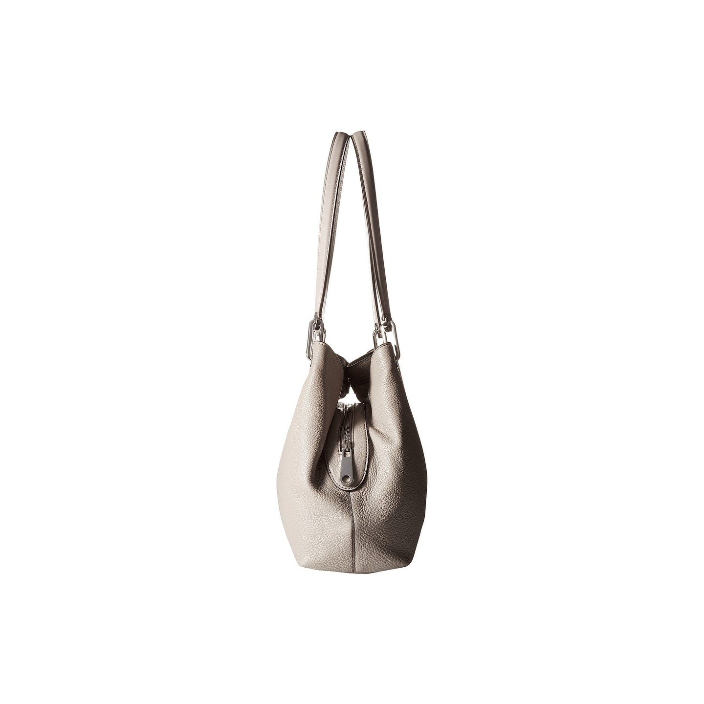 a75316d6a22f Shop Michael Kors Raven Large Pearl Grey Shoulder Tote Bag - Free Shipping  Today - Overstock - 21793748