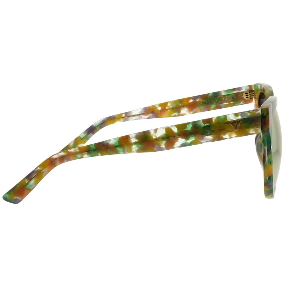 11893fb3bdf1 Shop Gentle Monster Square Didi.D FD1(M) Women Yellow Marble Frame Gold  Mirror Lens Sunglasses - Free Shipping Today - Overstock - 21797786