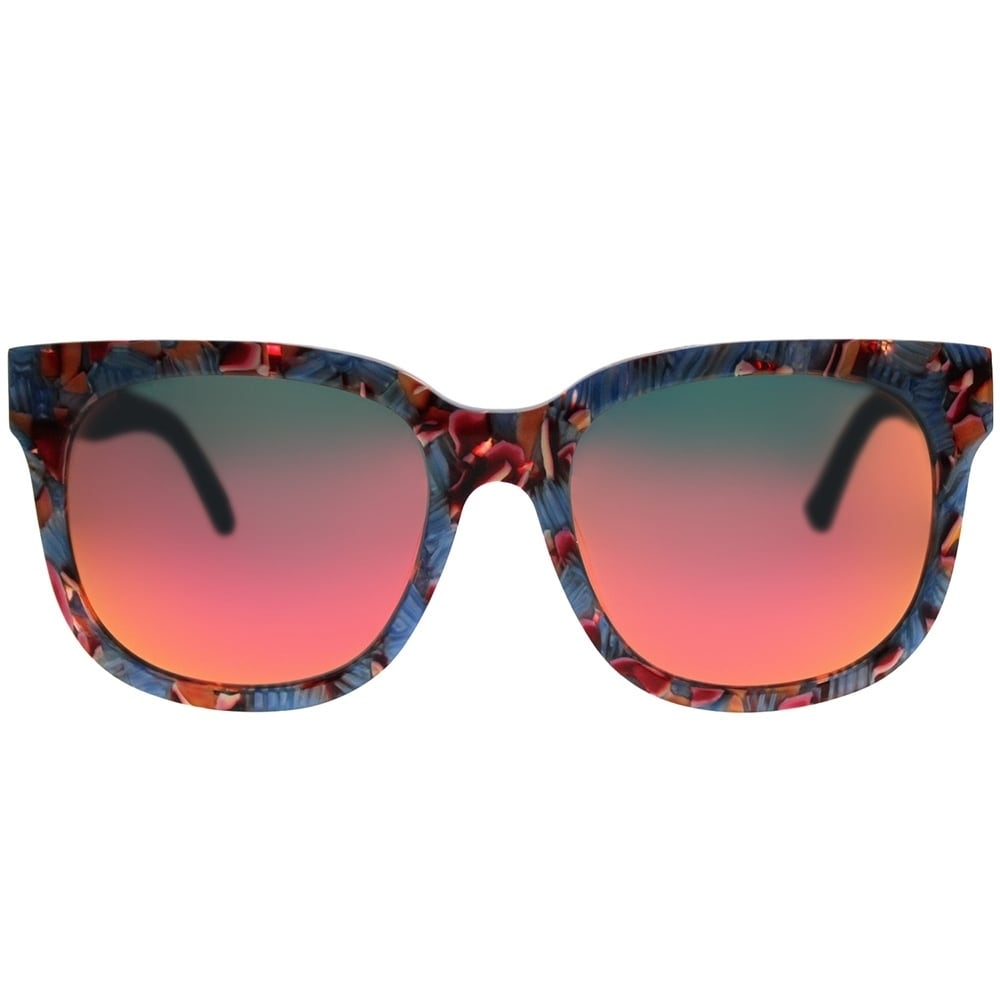 3fefa70b295db5 Shop Gentle Monster Square Didi.D BRD1(4M) Women Light Blue Marble Frame  Pink Mirror Lens Sunglasses - Free Shipping Today - Overstock - 21798446