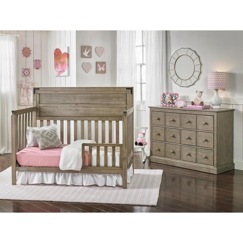 Shop Paxton Convertible Crib, Vintage Grey - Free Shipping Today ...