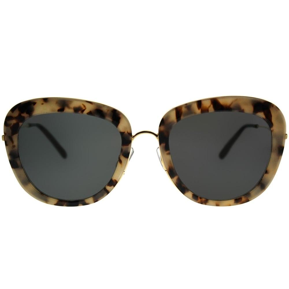 b73413b119c0f Shop Gentle Monster Cat-Eye Joli Lady S3 Women Grey Havana Gold Frame Grey  Lens Sunglasses - Free Shipping Today - Overstock - 21811219