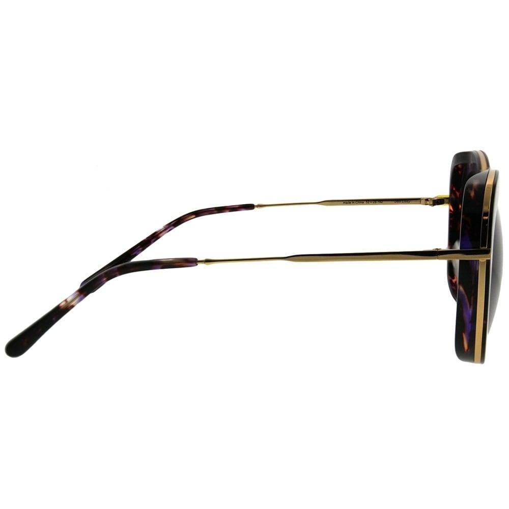 5d447aef930d3 Shop Gentle Monster Cat-Eye Joli Lady PD1 Women Purple Havana Gold Frame  Grey Lens Sunglasses - Free Shipping Today - Overstock - 21811855