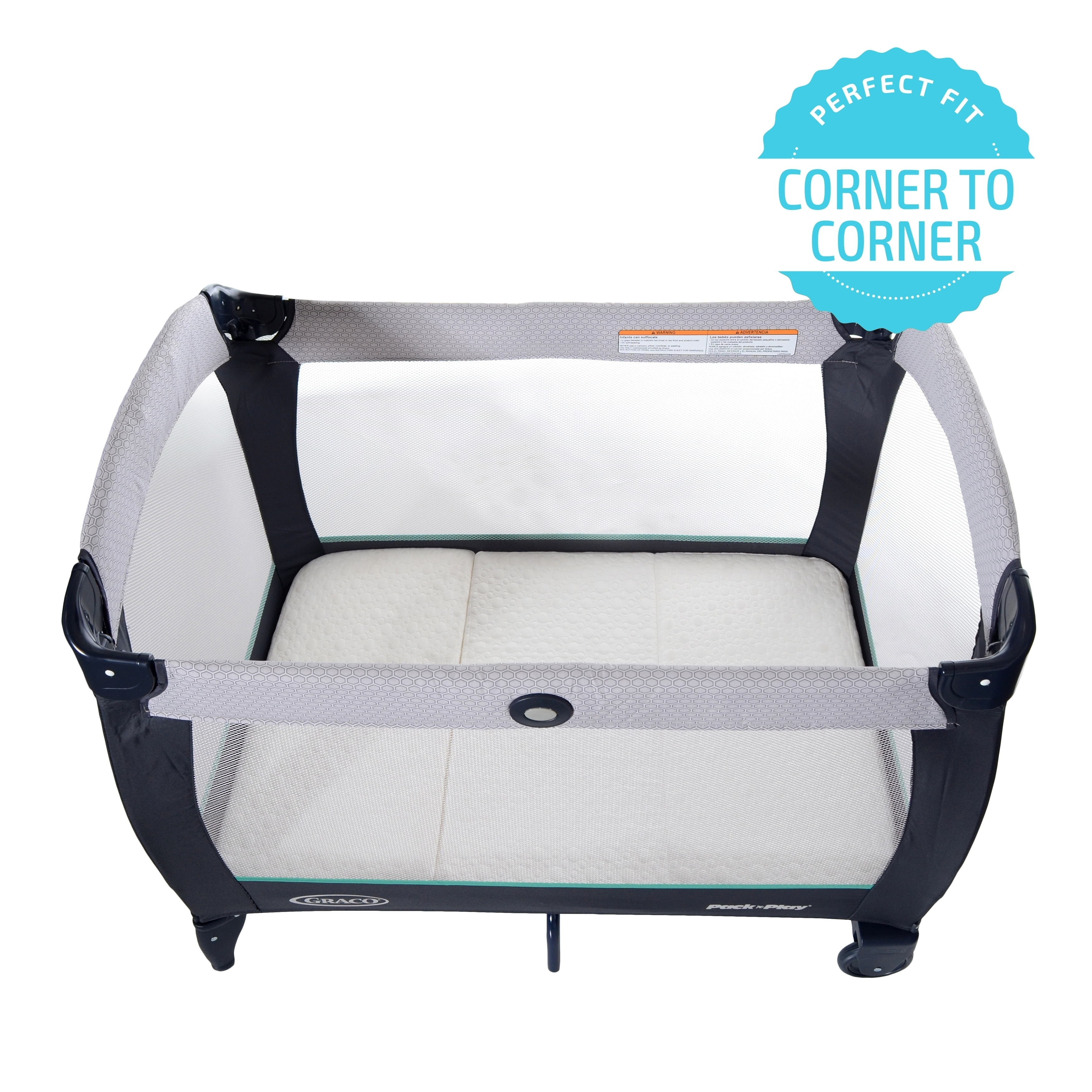 Milliard Pack And Play Mattress Conveniently Folds Into Bonus Carry Bag On Free Shipping Today 21827797