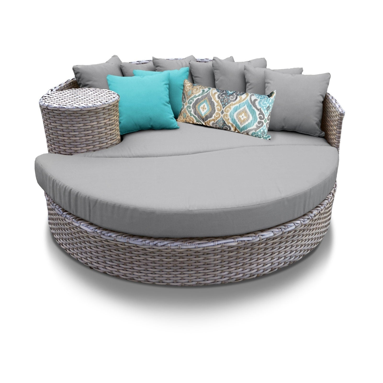 Oasis Circular Sun Bed  Outdoor Wicker Patio Furniture