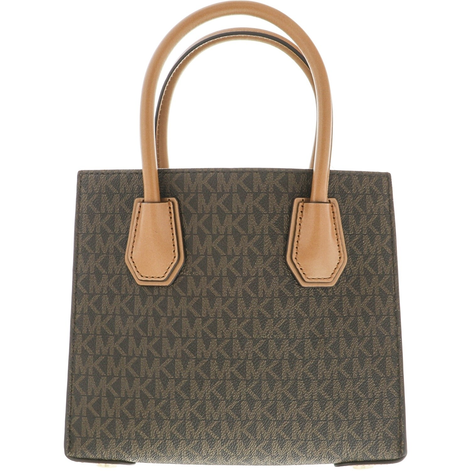 59ee6cced9cf Shop MICHAEL Michael Kors Small Brown Stud Mercer Tote - On Sale - Free  Shipping Today - Overstock - 21861712