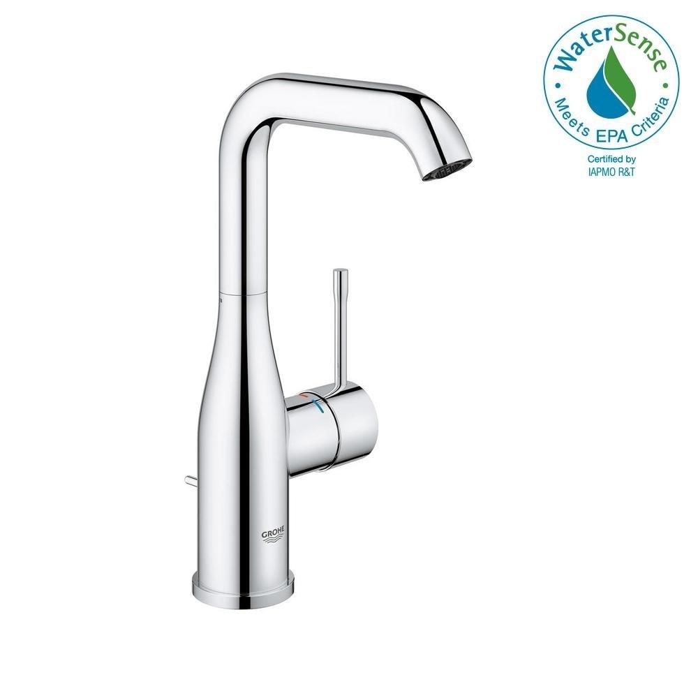 Shop Grohe Essence Single Handle Bathroom Faucet L Size 2348600a
