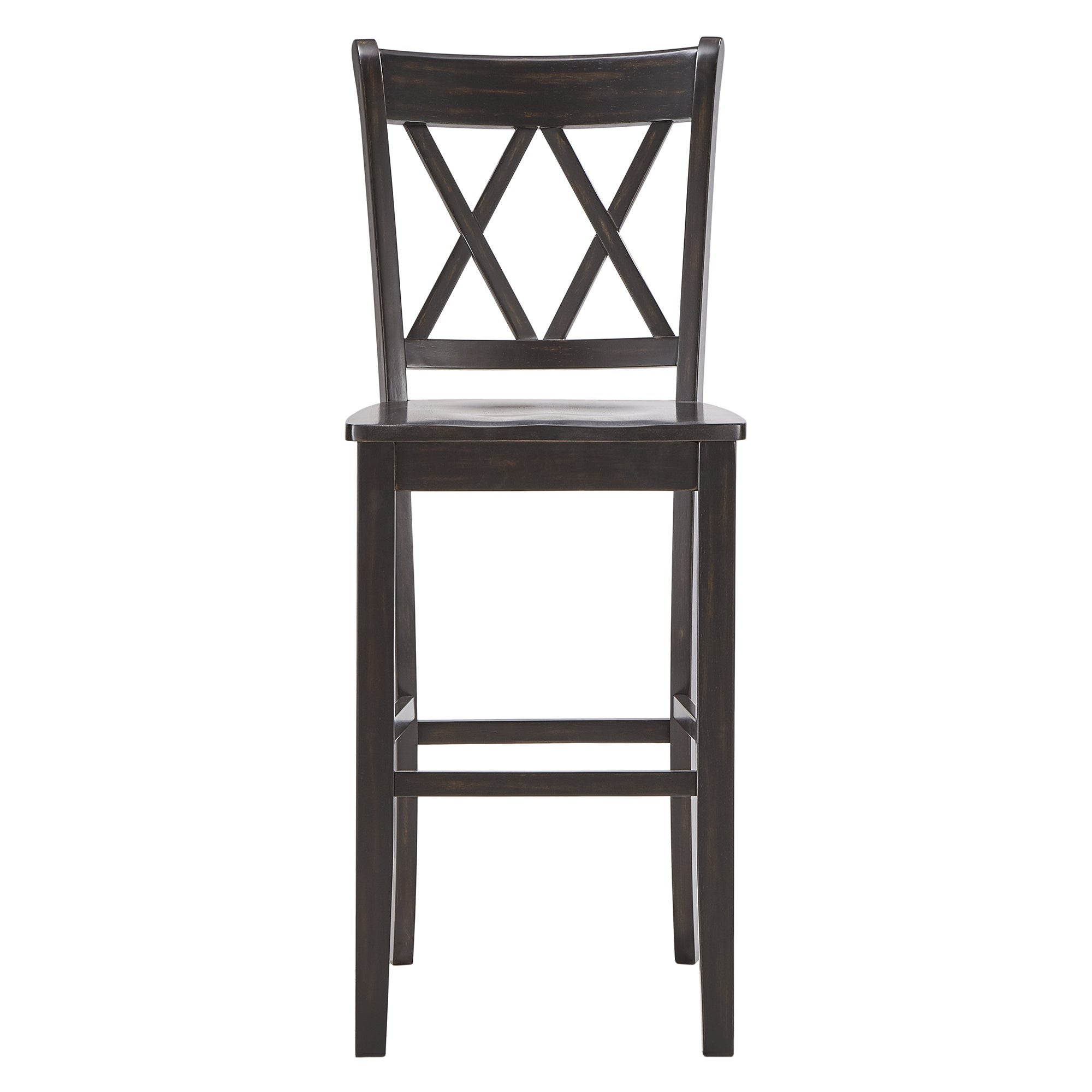 Shop Eleanor Double X Back Bar Height Chairs (Set Of 2) By INSPIRE Q  Classic   On Sale   Free Shipping Today   Overstock.com   21893197