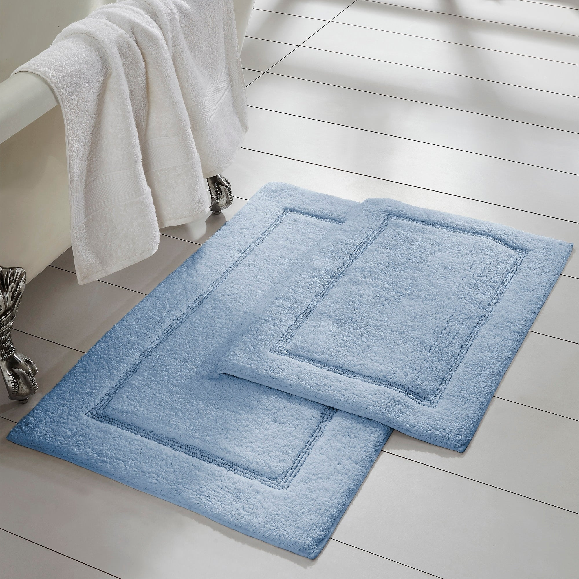 Shop Amrapur Overseas 2-Pack Solid Loop With Non-Slip Backing Bath ...