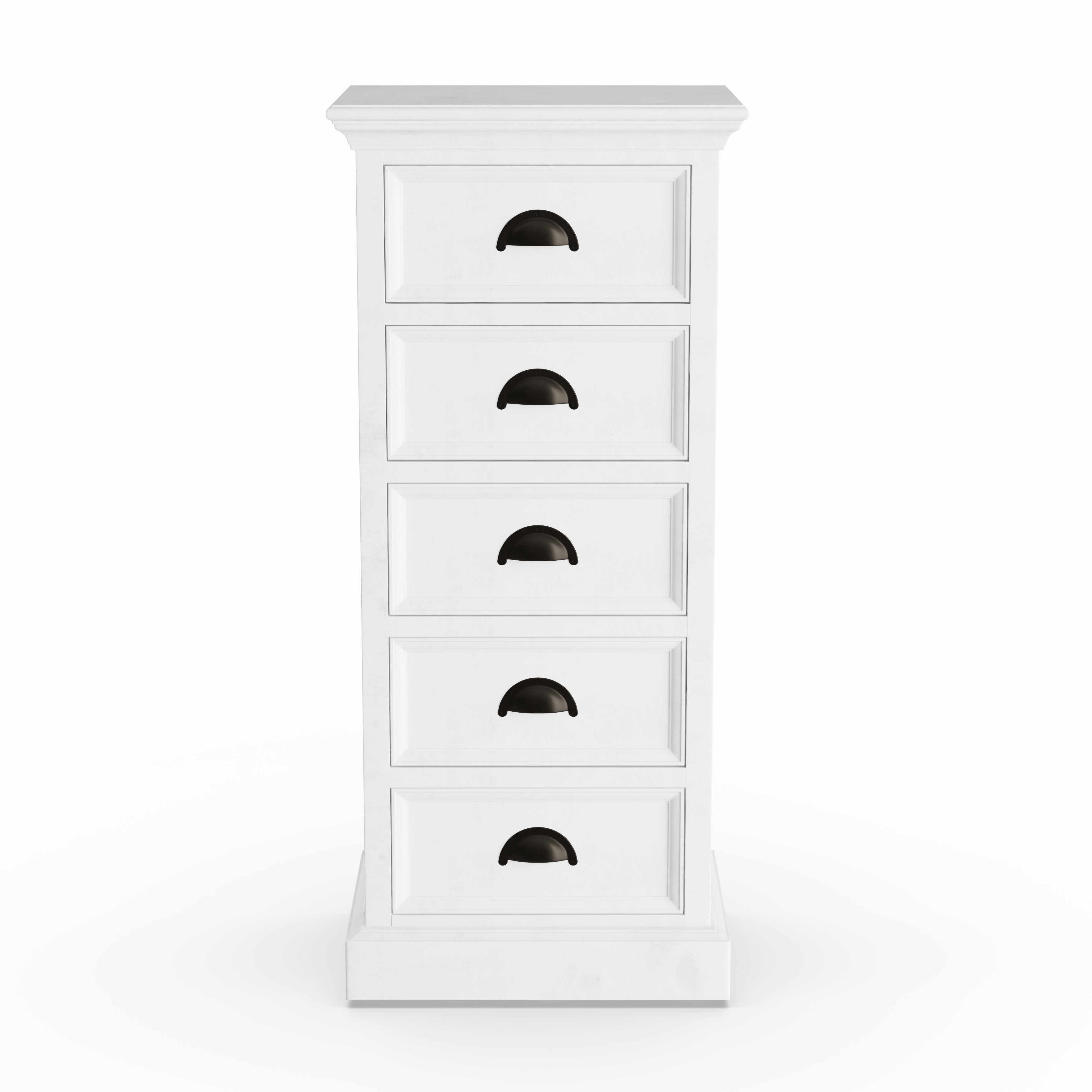 Shop The Gray Barn Mansfield Park White Mahogany 5 Drawer Storage Unit    Free Shipping Today   Overstock   21895205