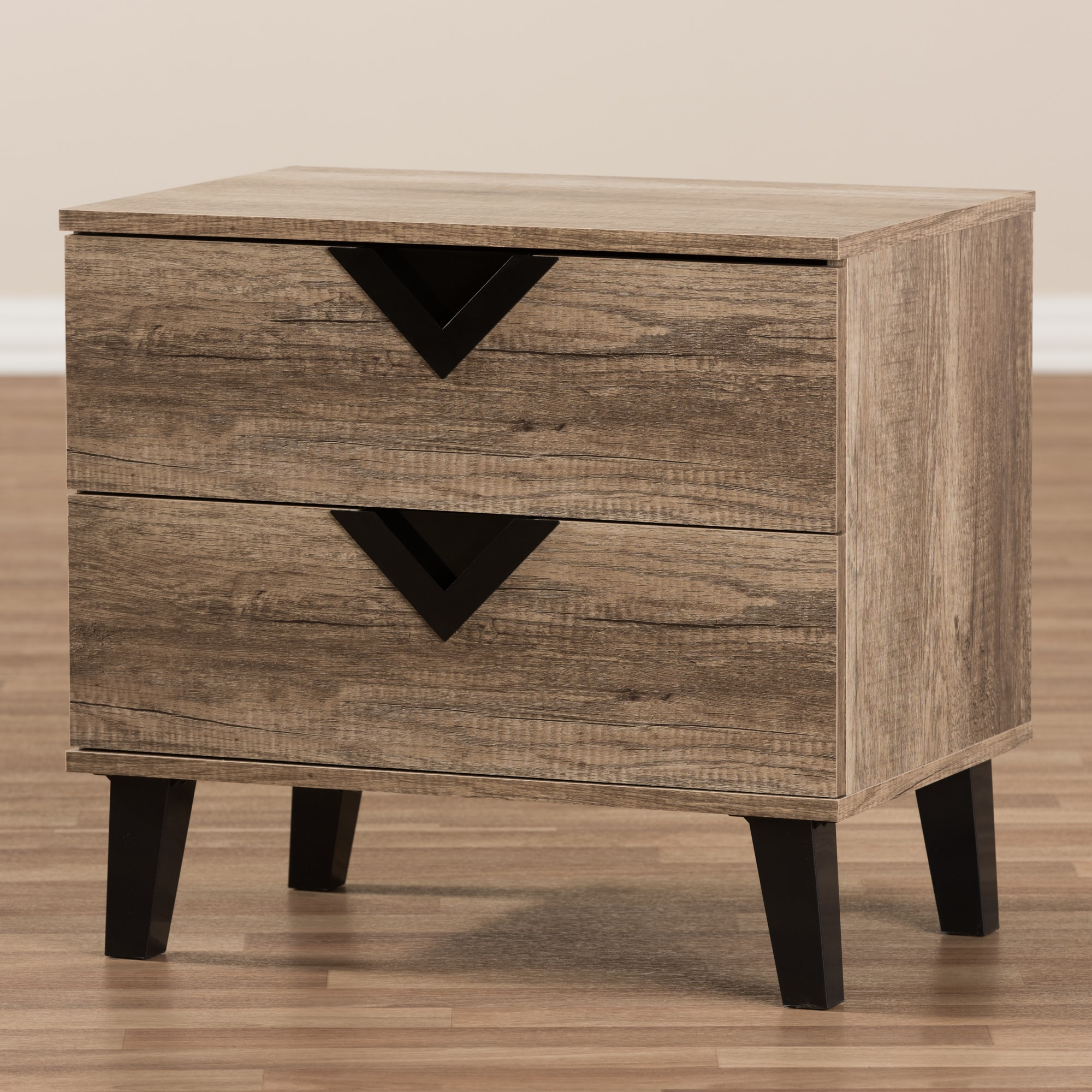 Palm Canyon Diana Contemporary Light Brown Wood Nightstand Free Shipping Today 21895322